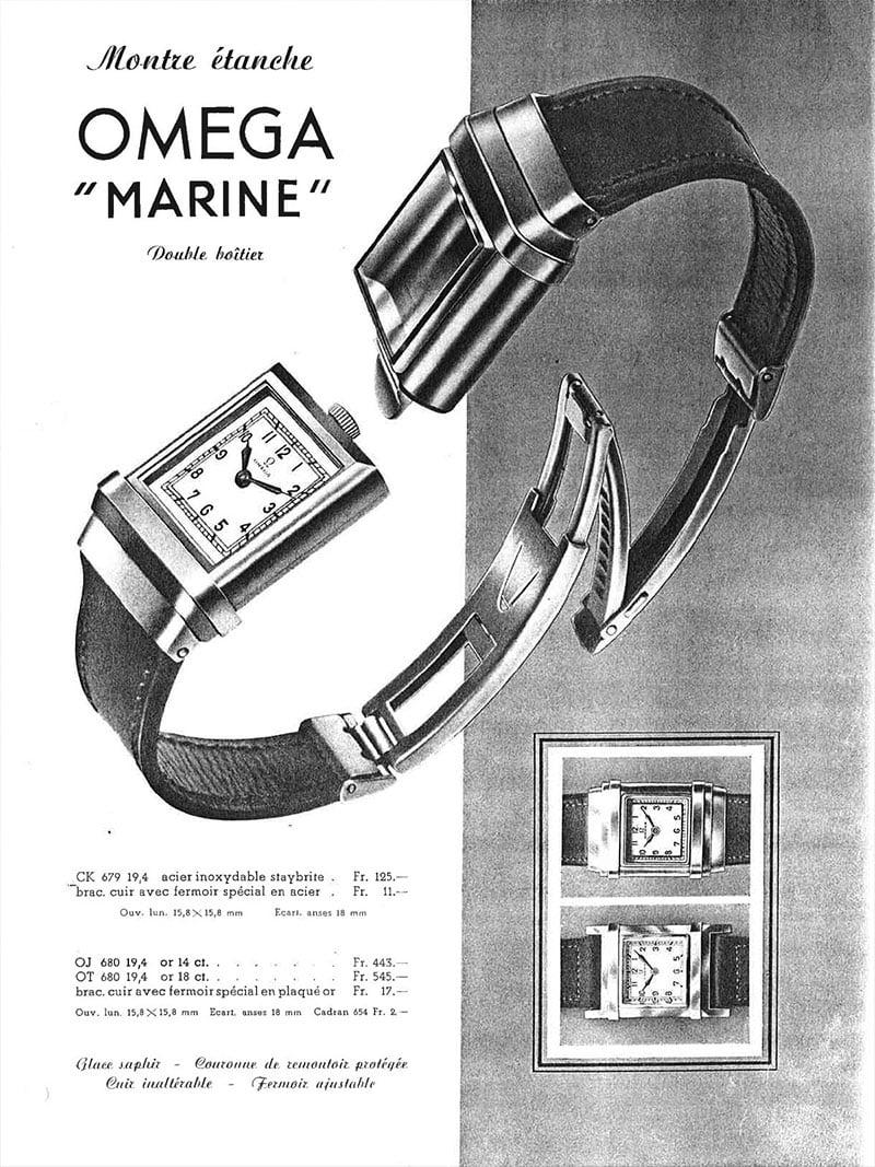 Omega Marine - vintage ad