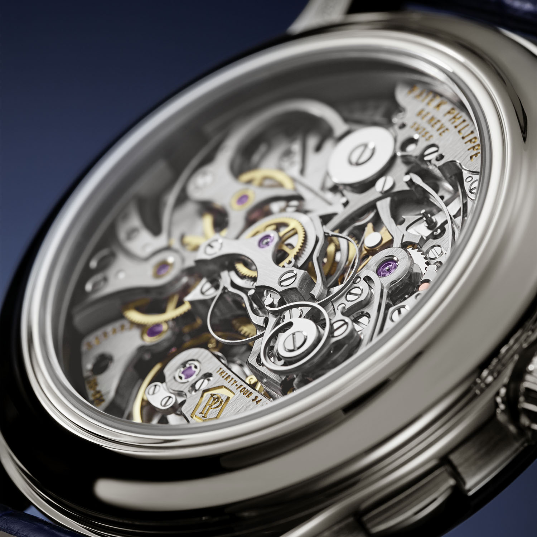 Patek Philippe 5370P Split-Seconds Chronograph Blue enamel - 3