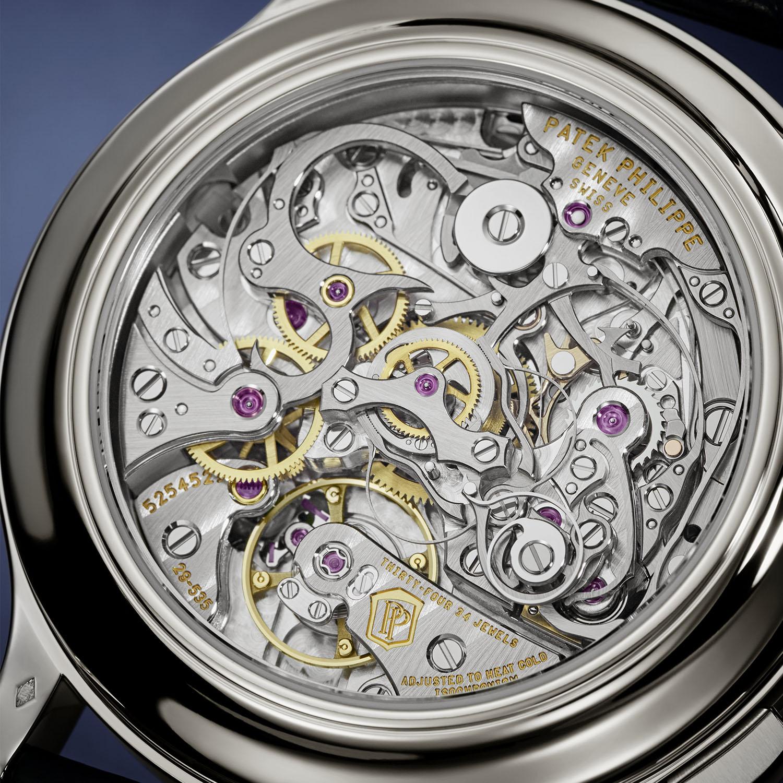 Patek Philippe 5370P Split-Seconds Chronograph Blue enamel - 4