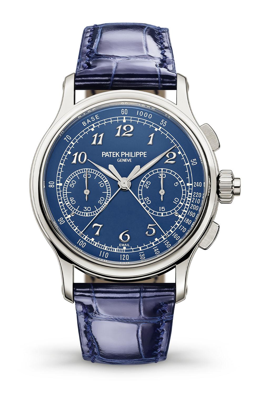 Patek Philippe 5370P Split-Seconds Chronograph Blue enamel - 9