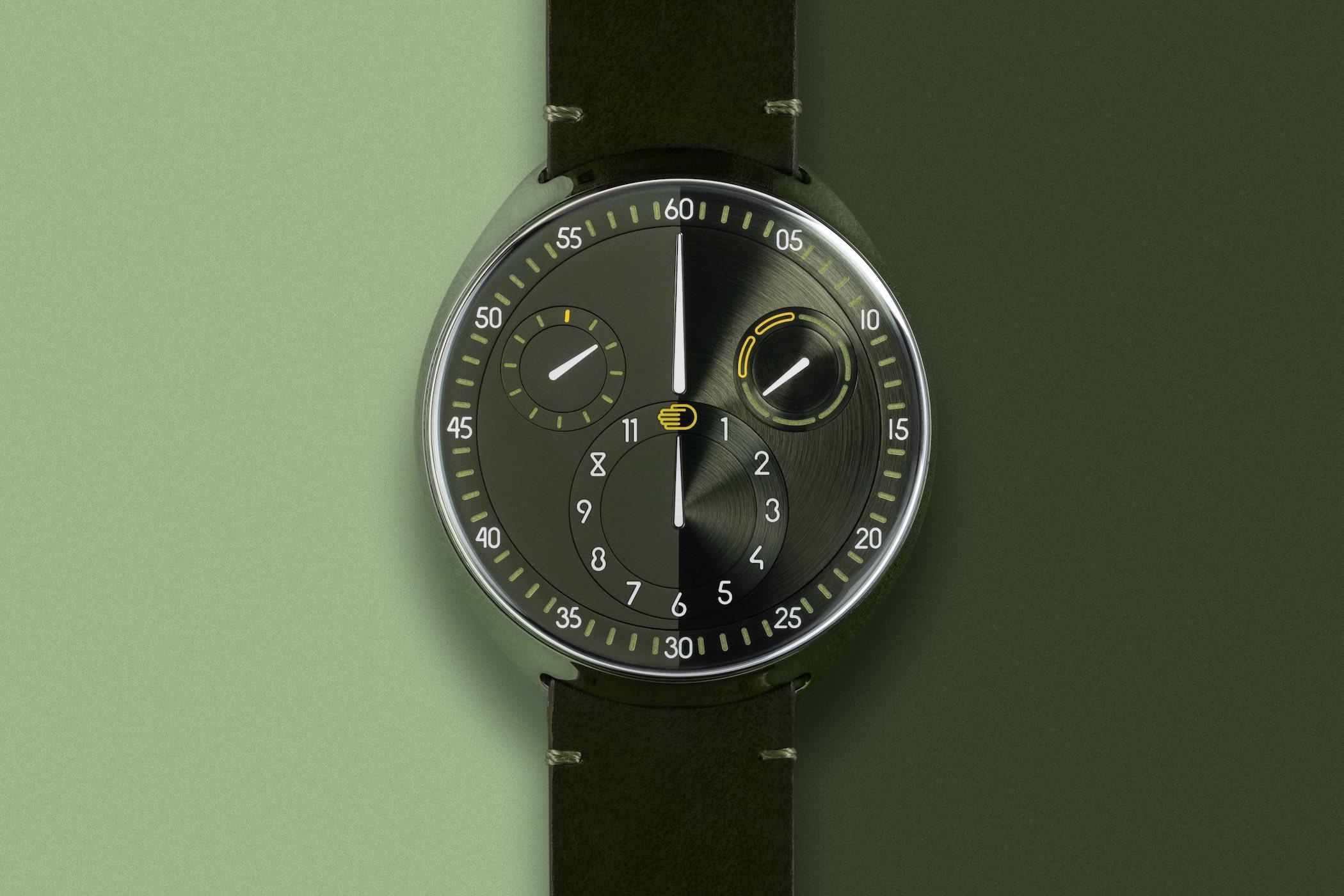 Ressence Type 1 Slim X Green 10th Anniversary