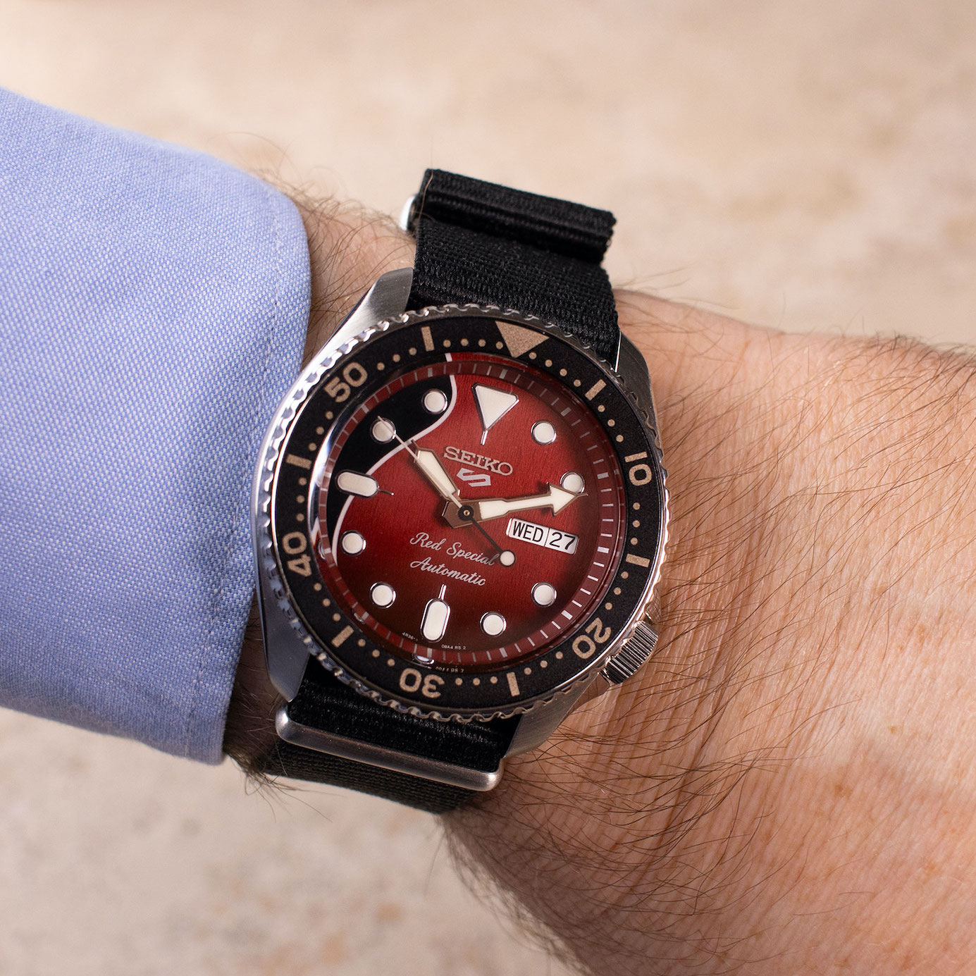Seiko 5 Sports Brian May Special Edition SRPE83K1