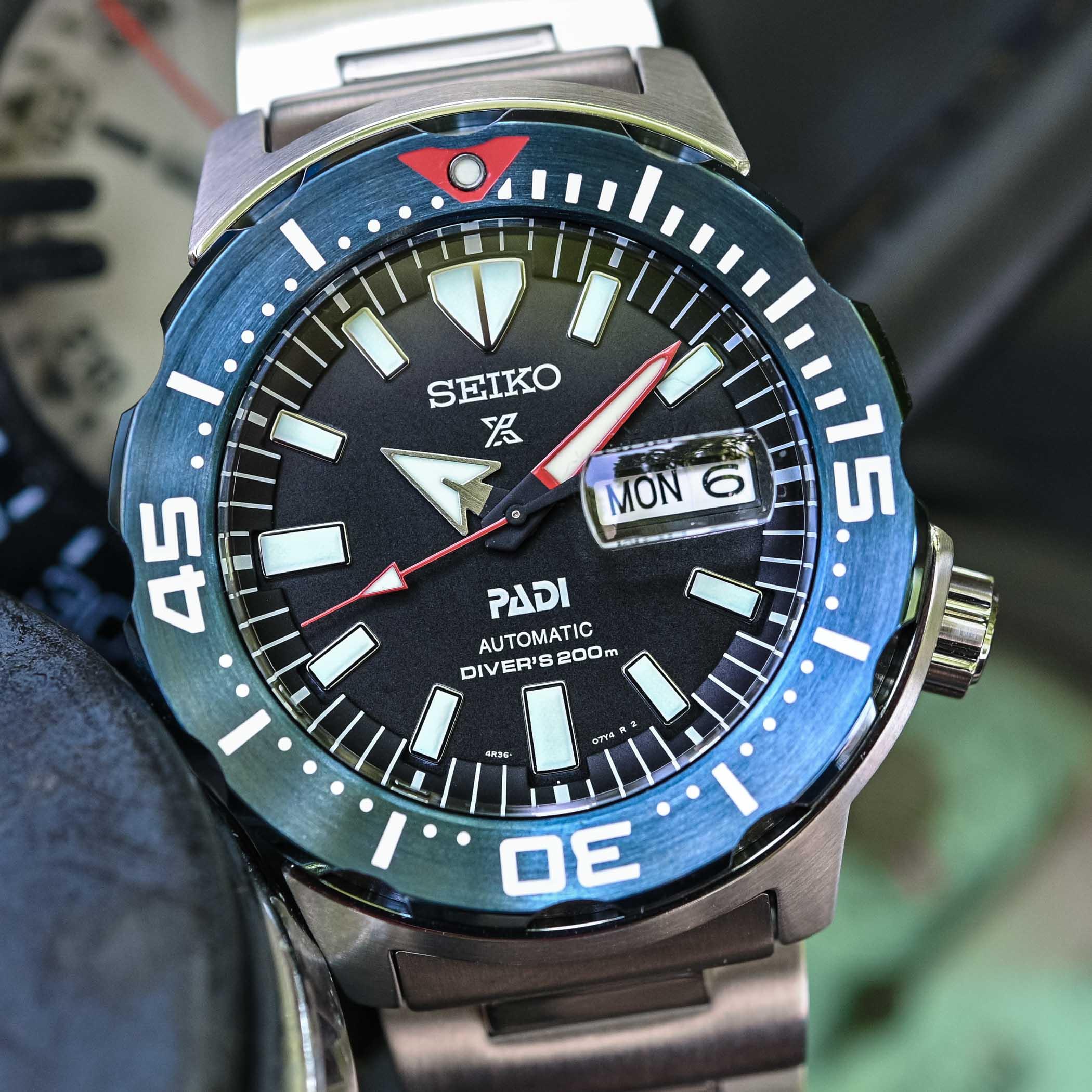 Seiko Prospex Diver Monster PADI Edition - SRPE27K1