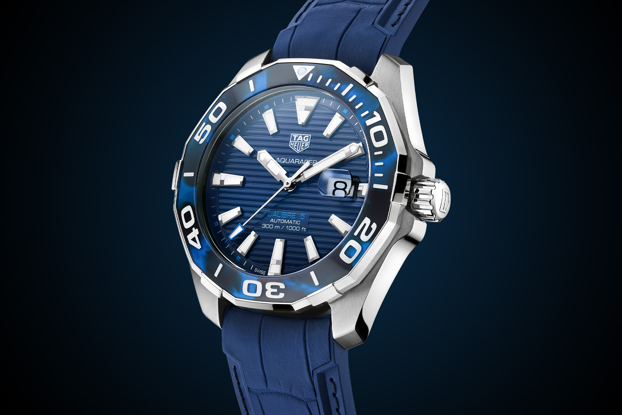 TAG Heuer Aquaracer 43mm Calibre 5 Automatic Tortoise Shell Effect