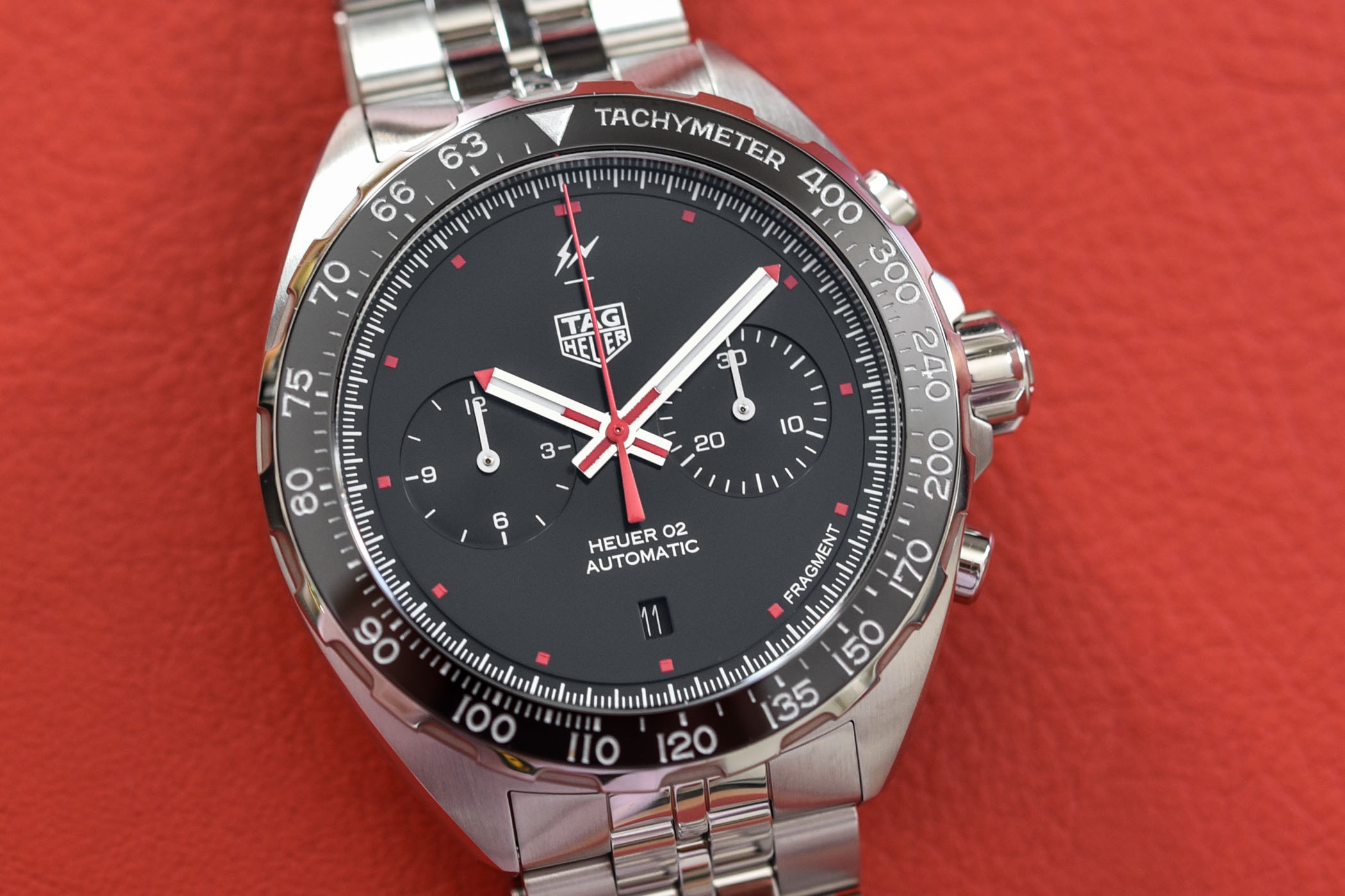 TAG Heuer x Fragment Design Calibre Heuer 02 Automatic Chronograph - Review - 1