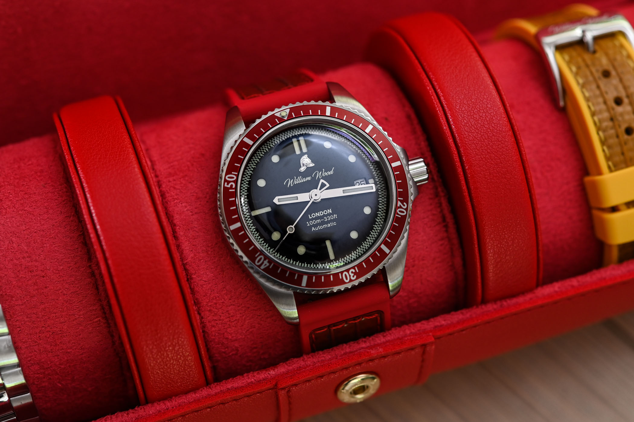 William Wood Valiant Red Watch