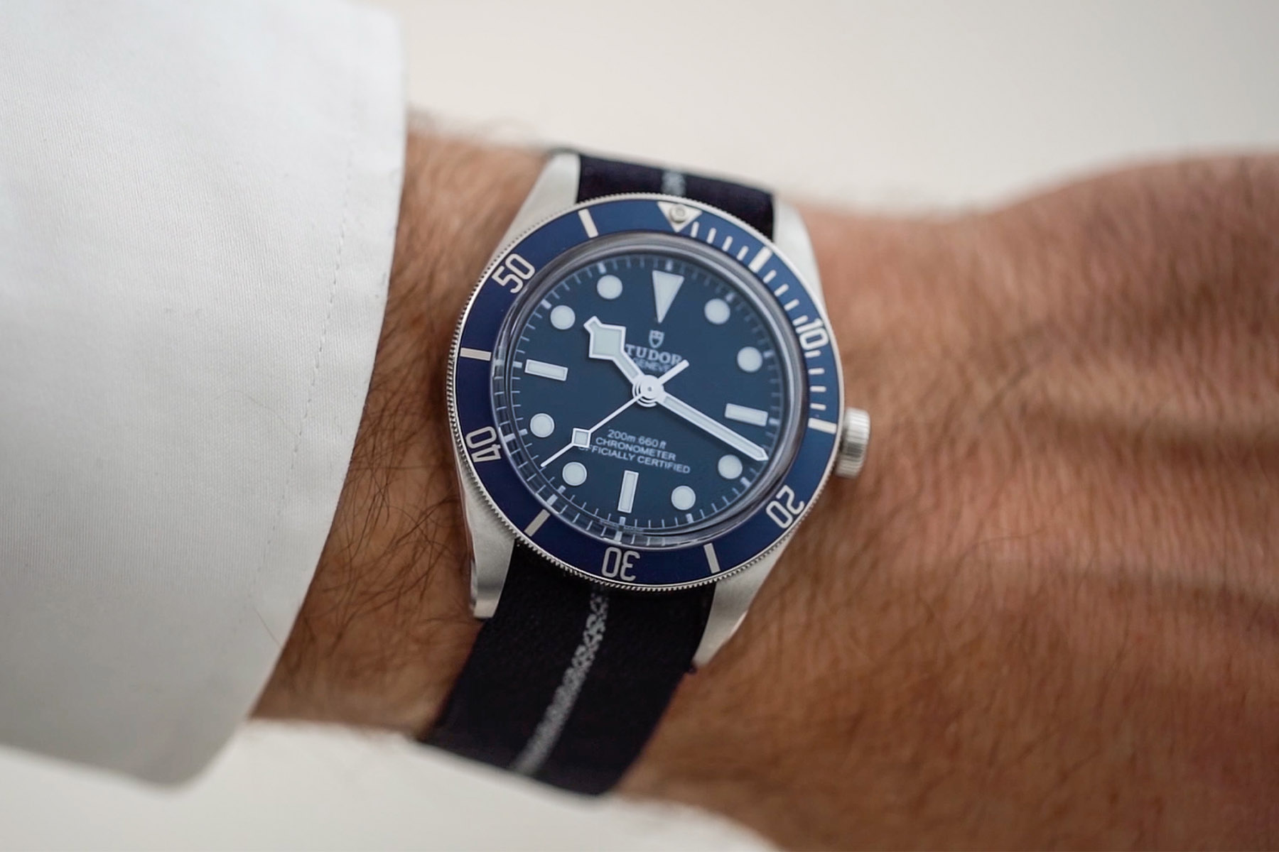 video review Tudor Black Bay 58 Navy Blue M79030B