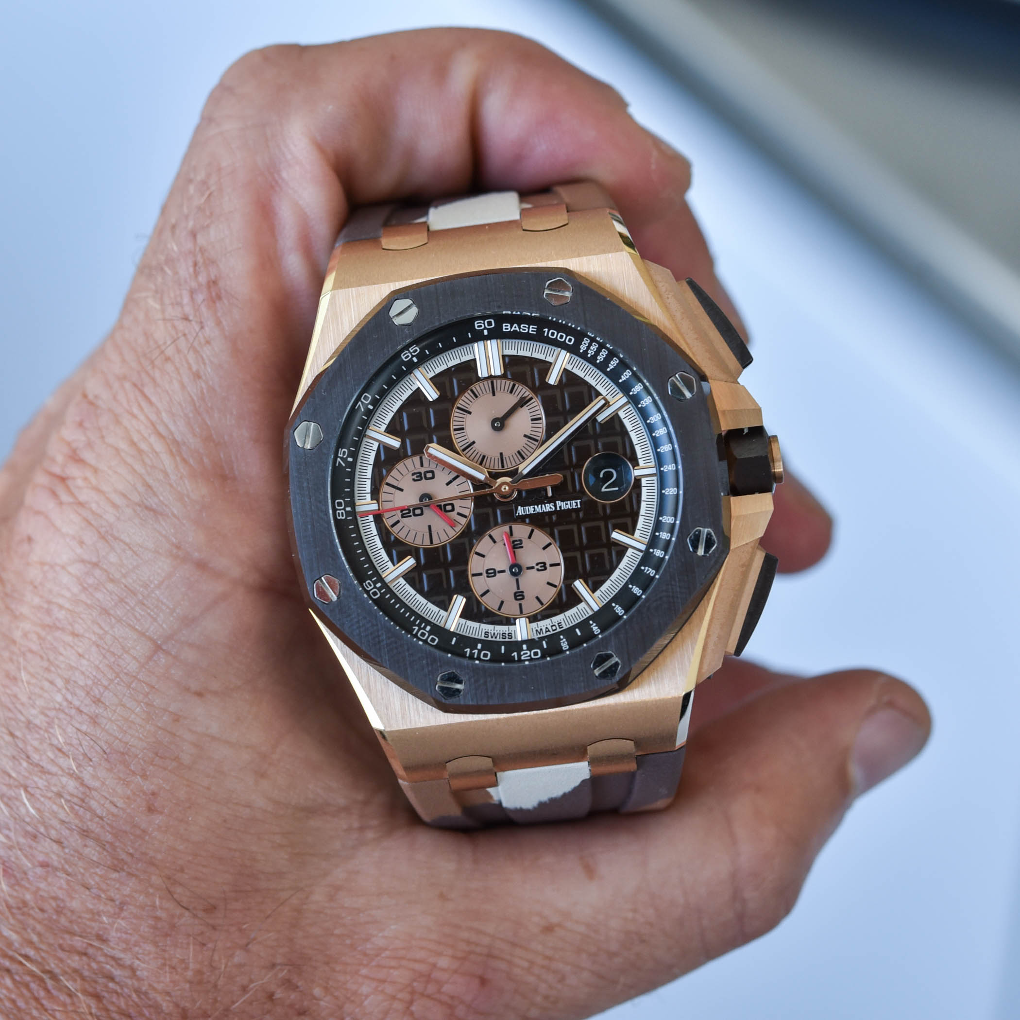 Audemars Piguet Royal Oak Offshore Selfwinding Chronograph 44mm Camo 26400SO - 2
