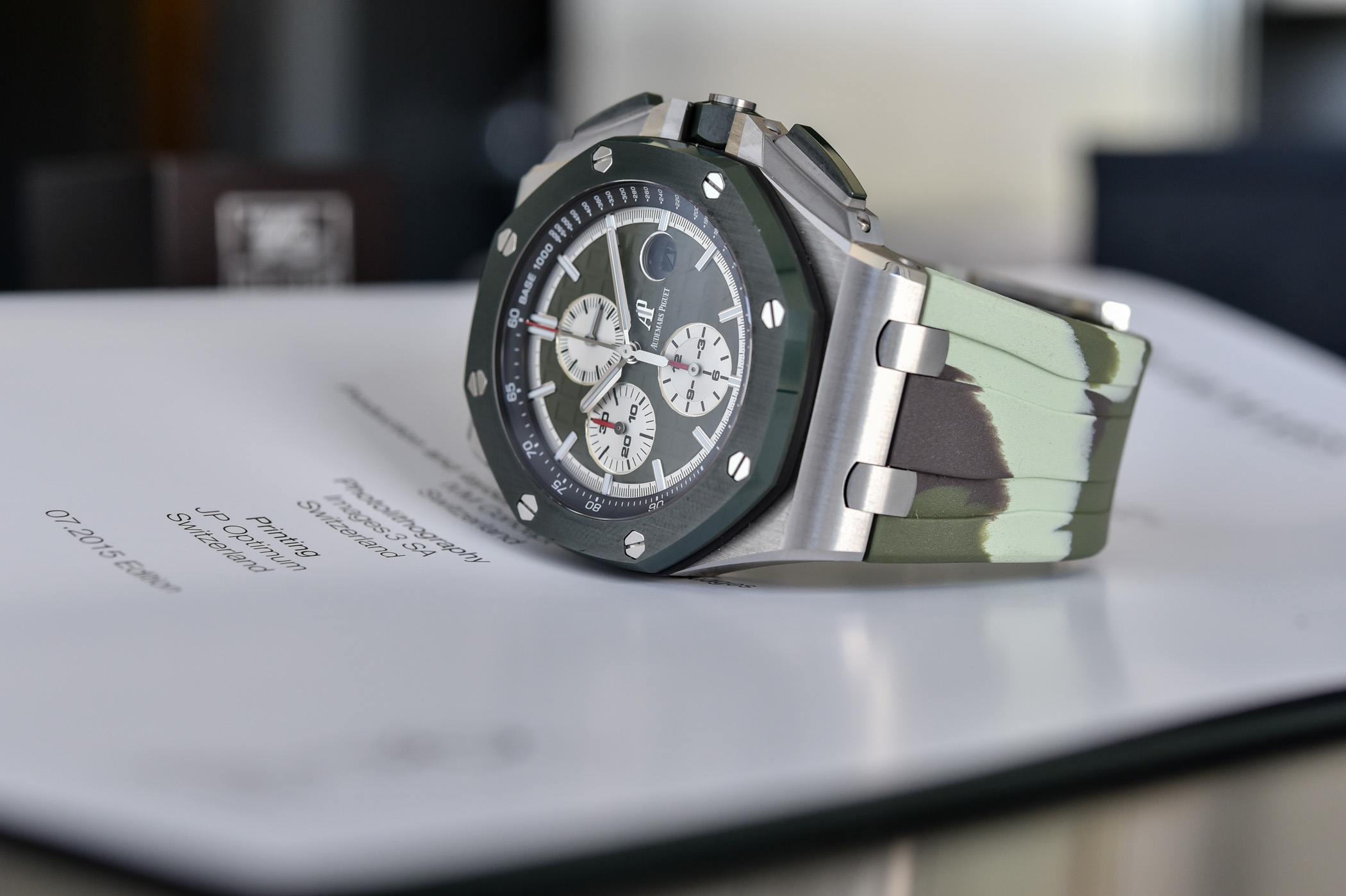 Audemars Piguet Royal Oak Offshore Selfwinding Chronograph 44mm Camo 26400SO - 8