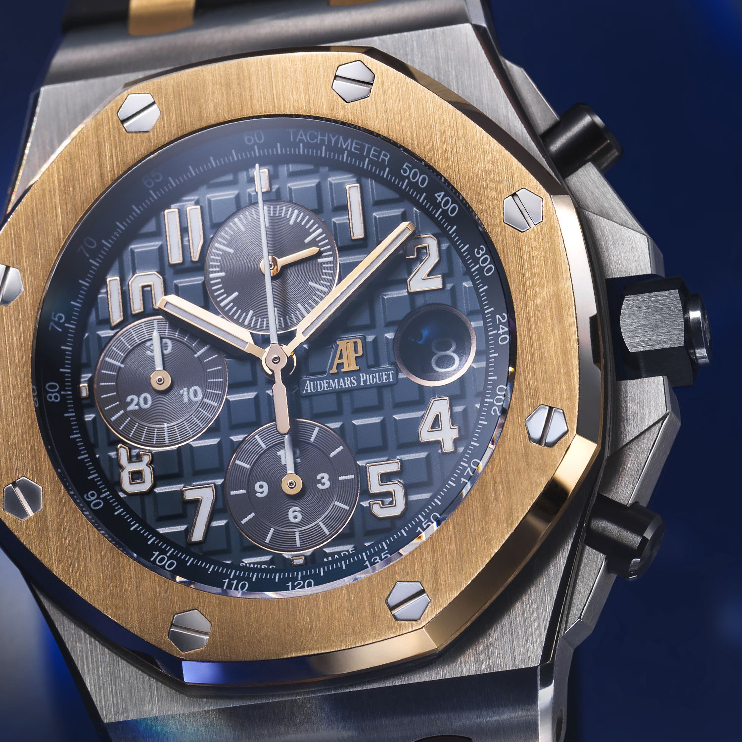 Audemars Piguet Royal Oak Offshore Selfwinding Chronograph Bucherer BLUE 26471SR.OO.D101CR.01.20 - 2