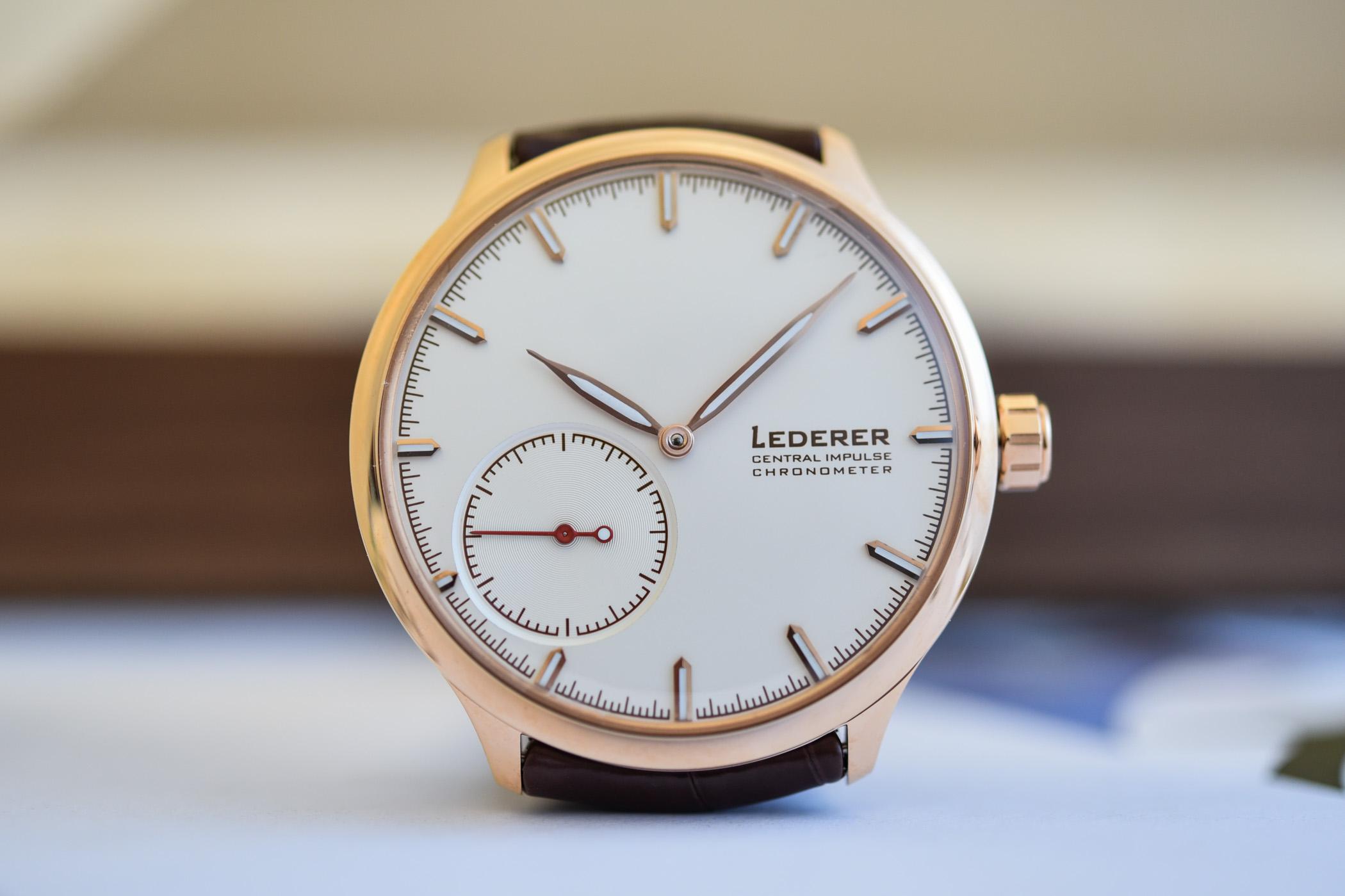 Bernhard Lederer Central Impulse Chronometer - 10