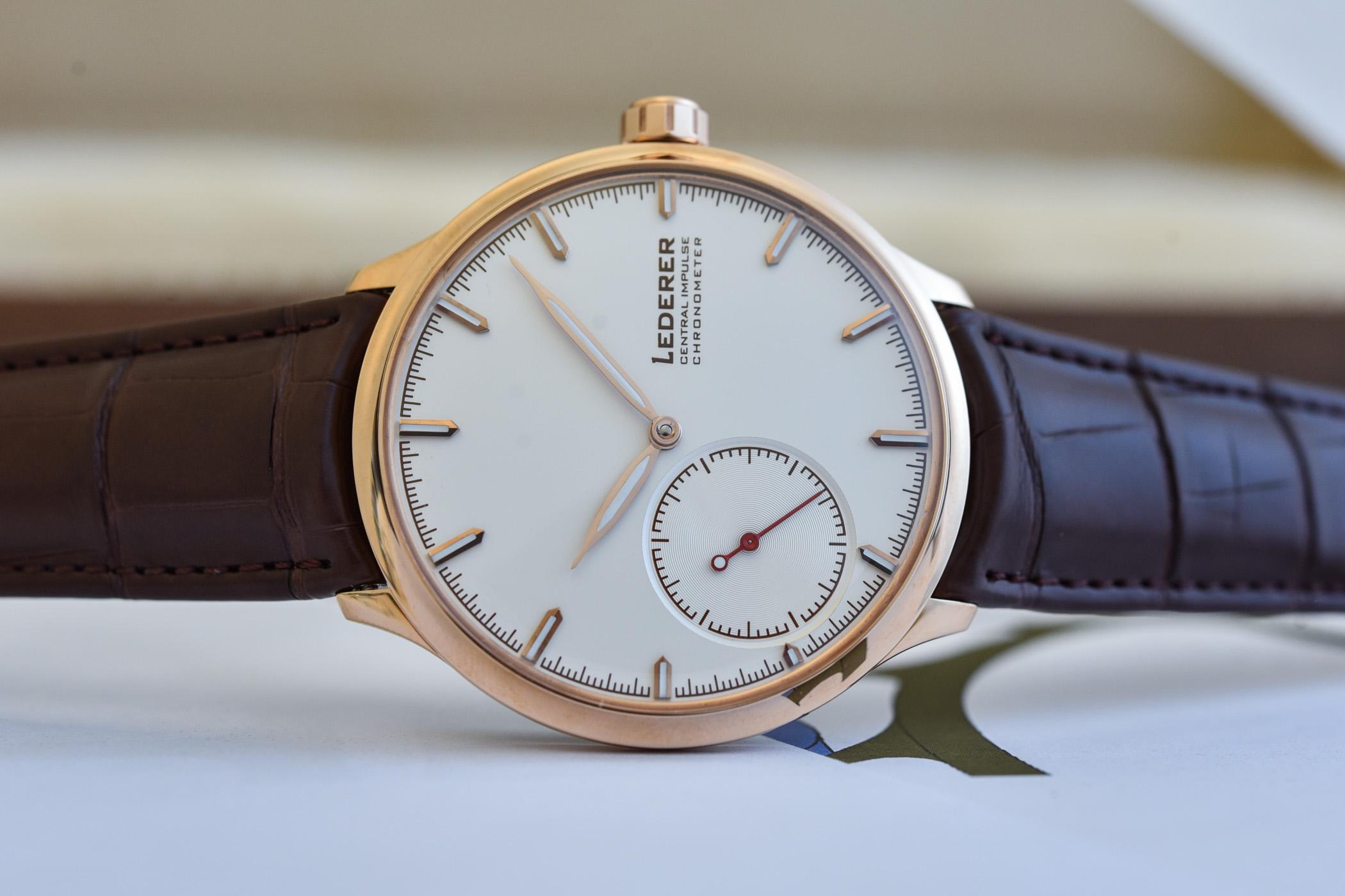 Bernhard Lederer Central Impulse Chronometer - 11