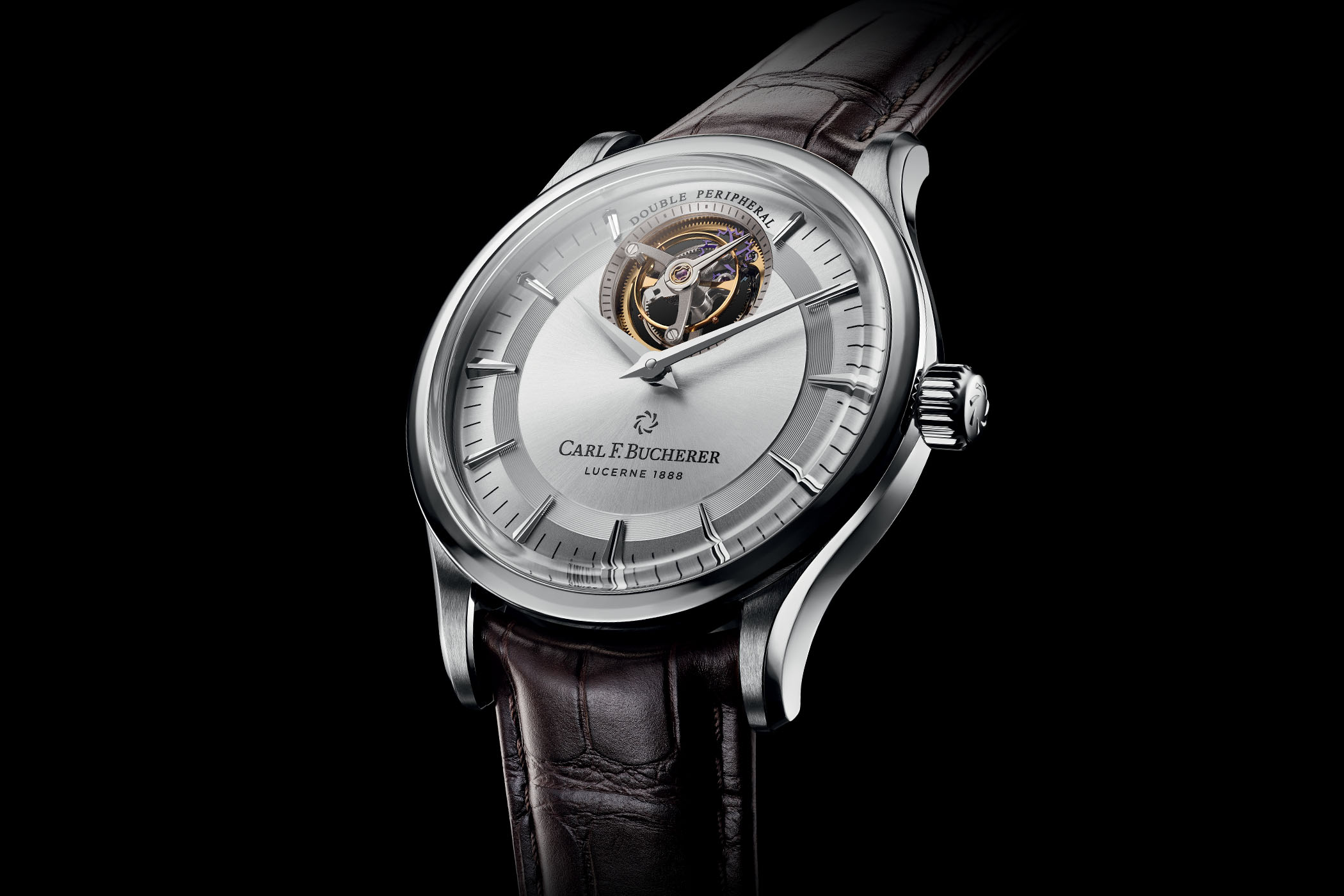 Carl F. Bucherer Heritage Tourbillon DoublePeripheral White Gold