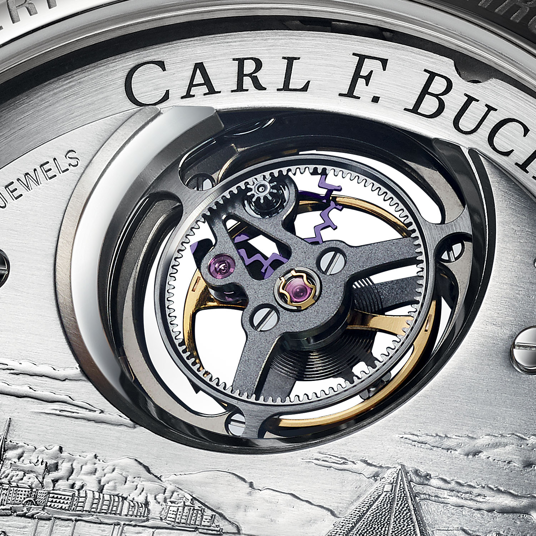 Carl F. Bucherer Heritage Tourbillon DoublePeripheral White Gold