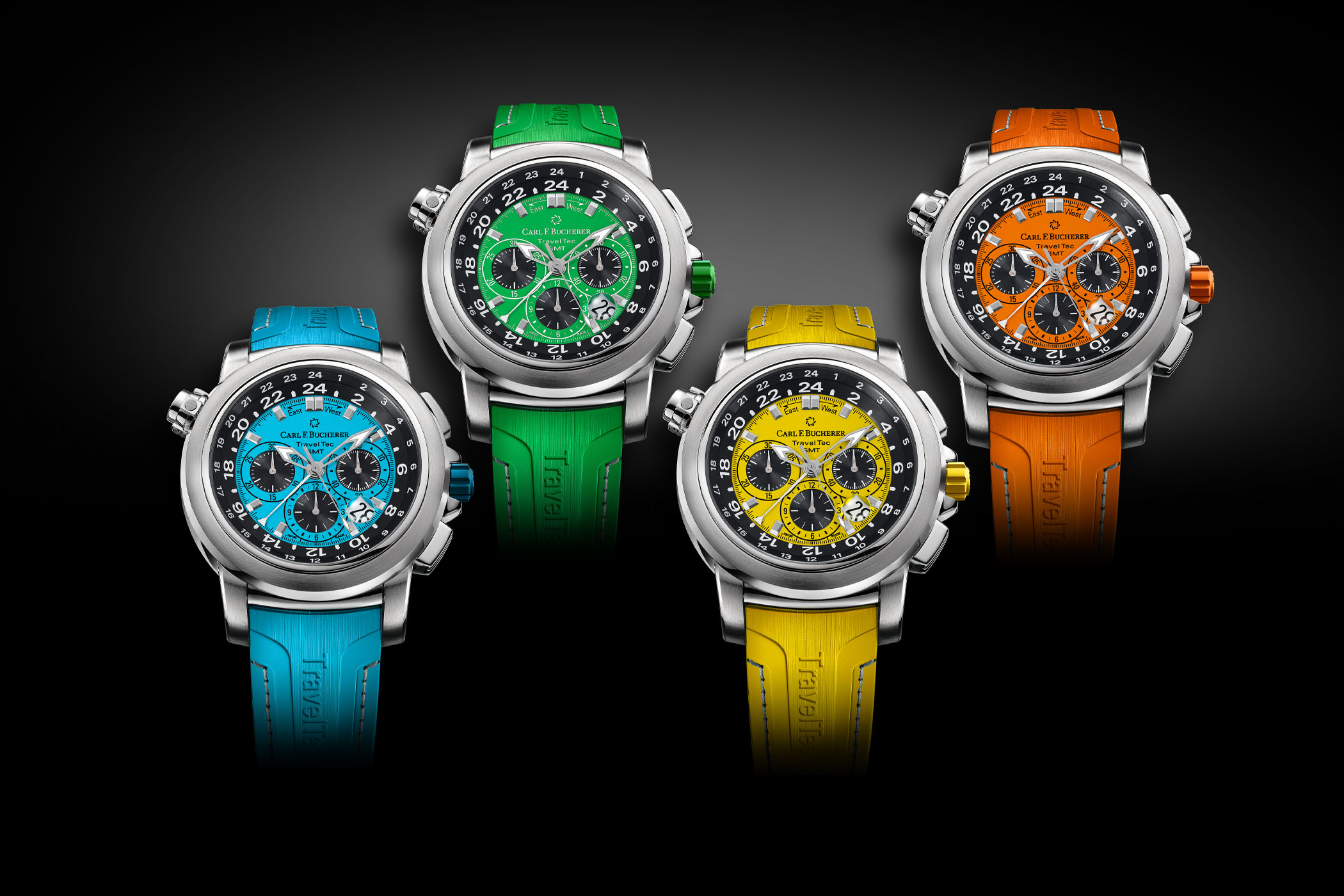 Carl F. Bucherer Patravi TravelTec Color Edition Four Seasons