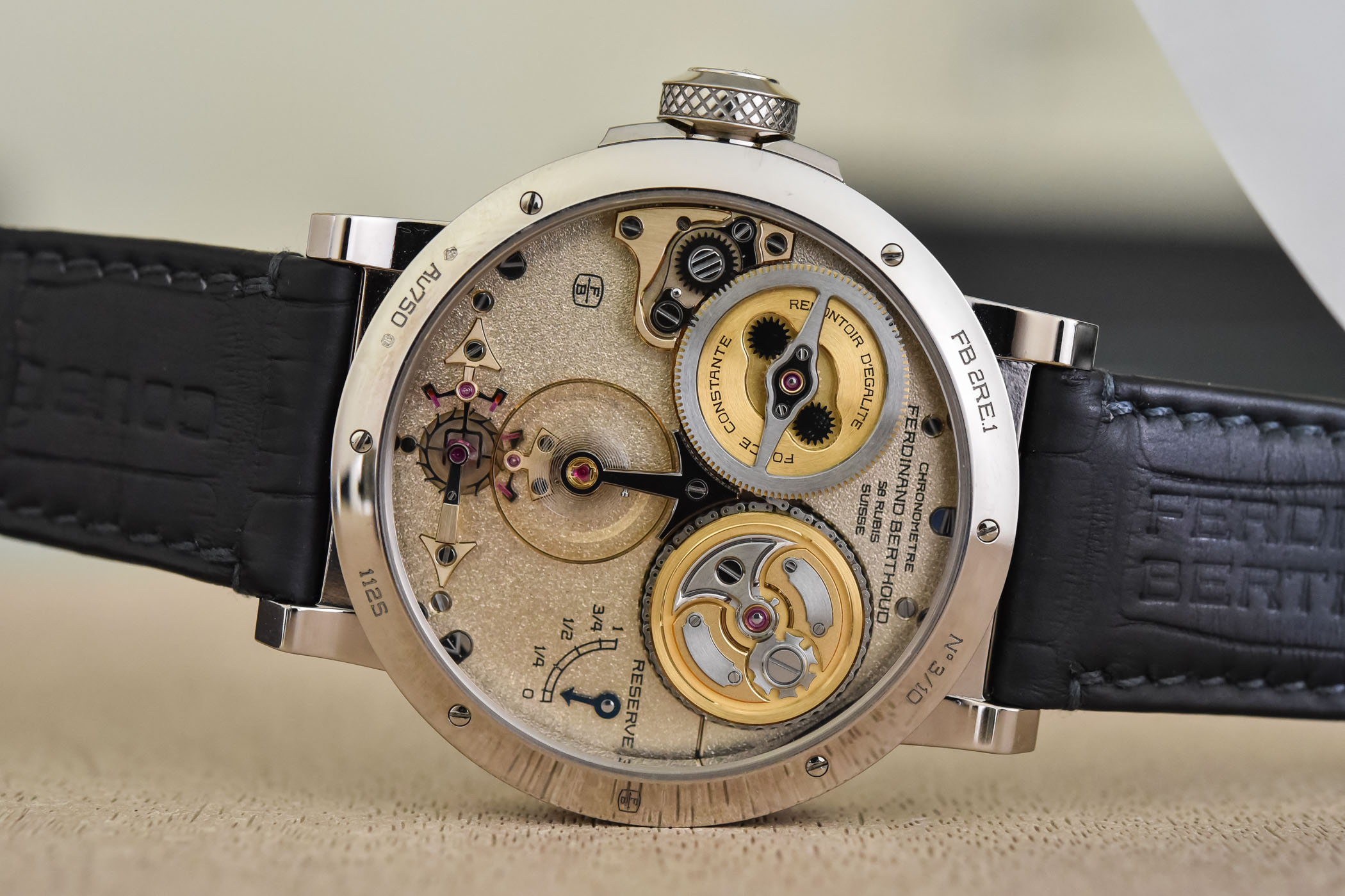 Ferdinand Berthoud Chronometre FB 2RE - 14