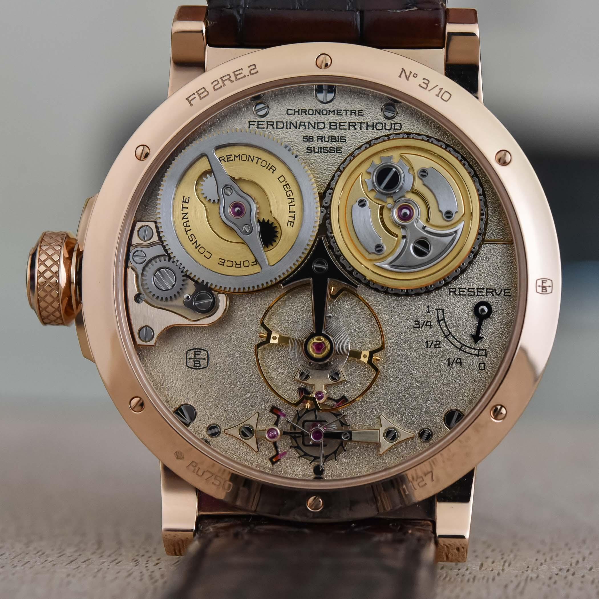 Ferdinand Berthoud Chronometre FB 2RE - 5