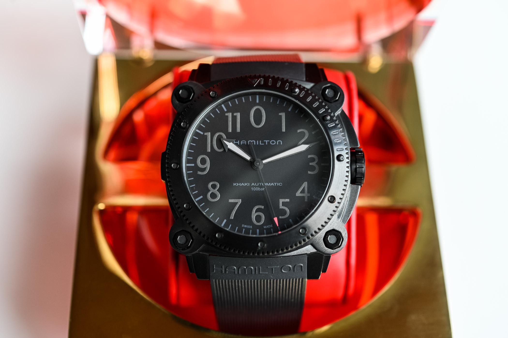 Hamilton Khaki Navy BeLOWZERO Tenet Limited Edition - 7