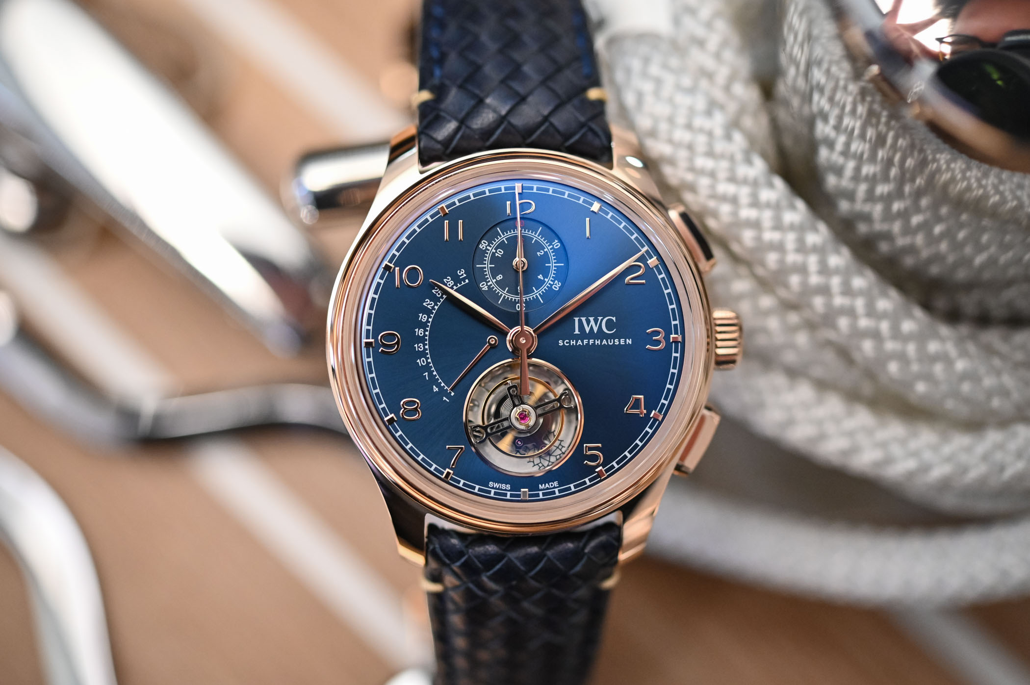 IWC Portugieser Tourbillon Retrograde Chronograph Boutique Edition IW394005