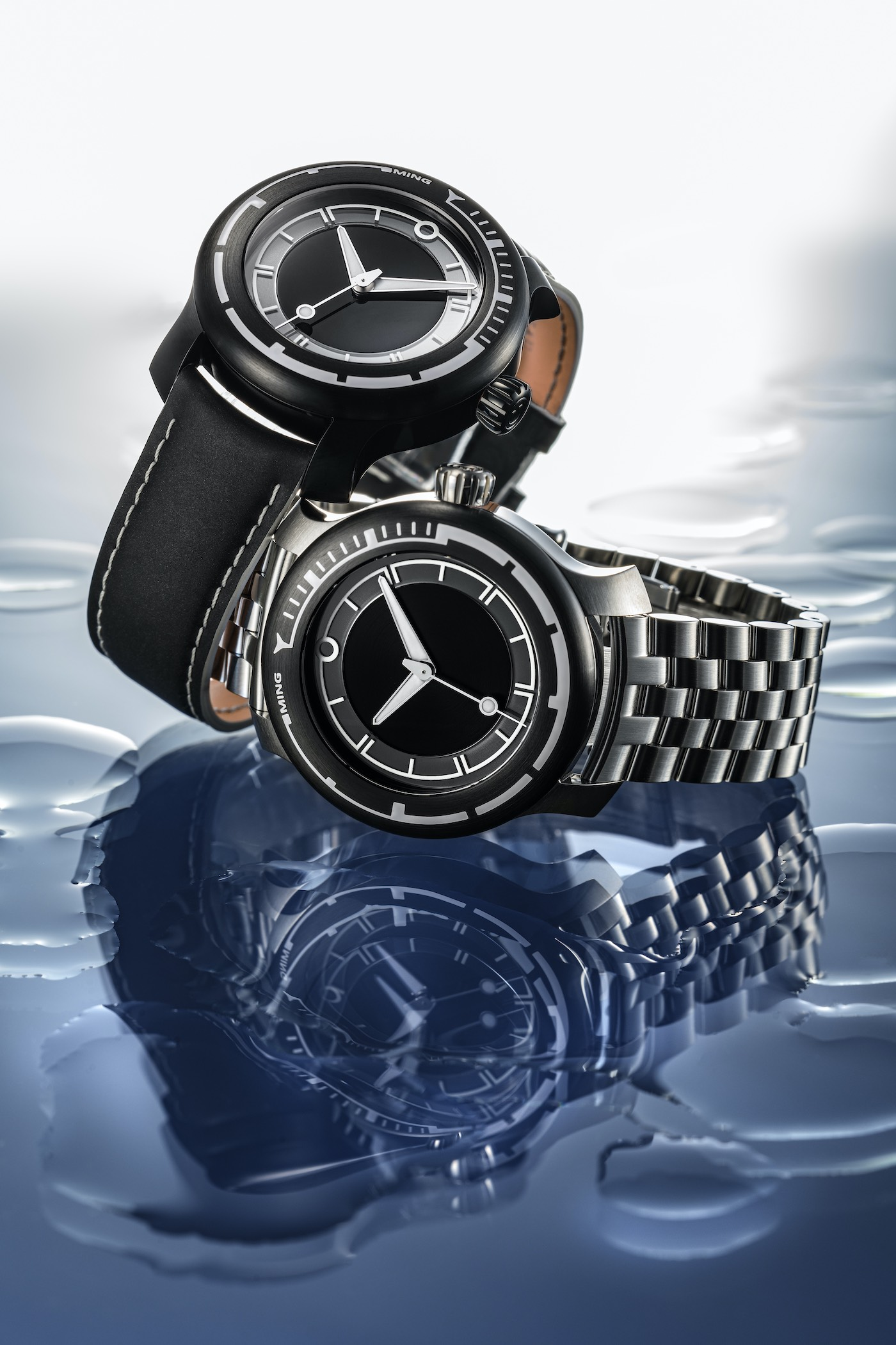 MING 18.01 H41 Titanium Dive Watch