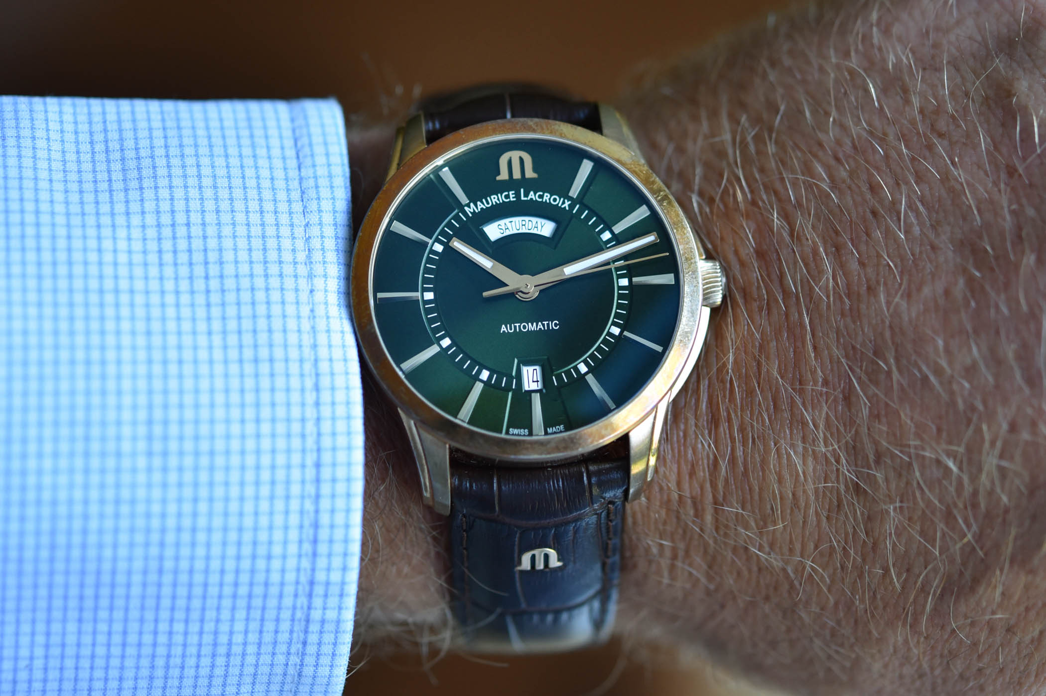 Maurice Lacroix Pontos Day-Date 2020 - bronze