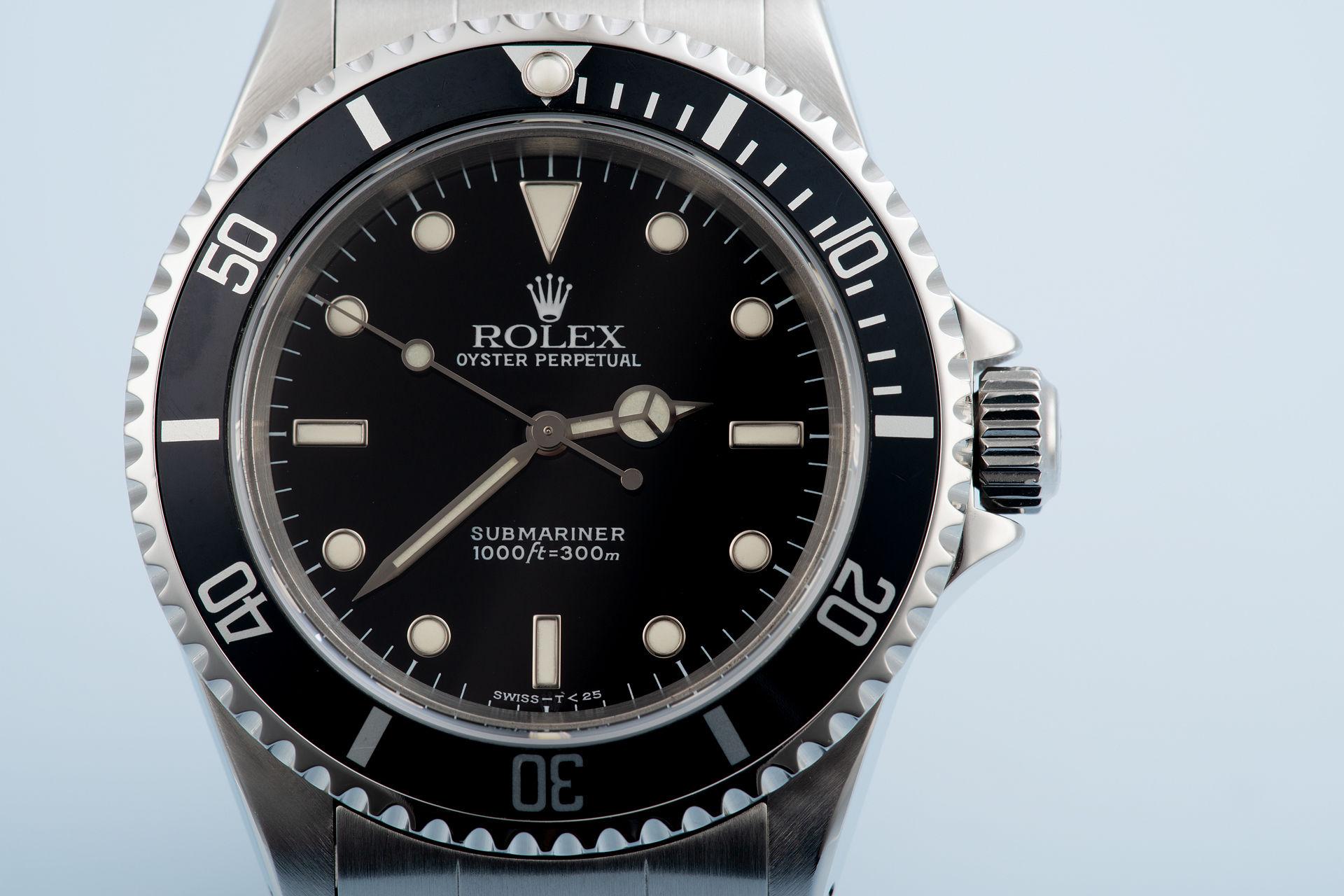 Rolex Submariner 14060 2-line Tritium - 2