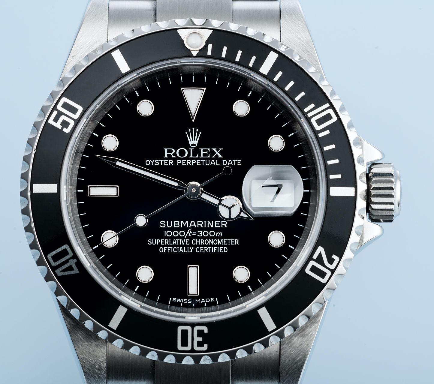 Rolex Submariner 16610 Black - 2