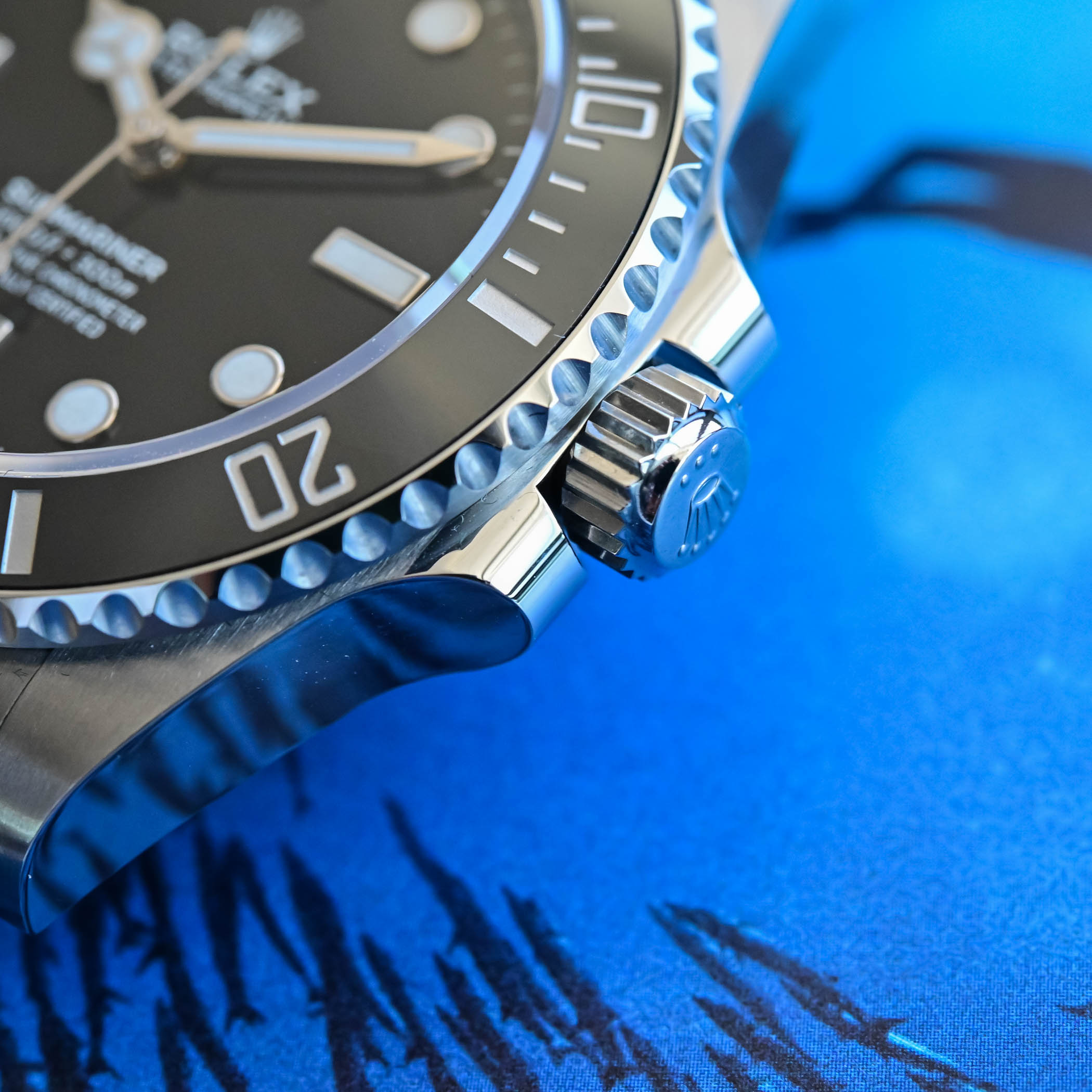 Rolex Submariner 41mm 124060 no-date Steel 2020 - crown guards and triplock crown