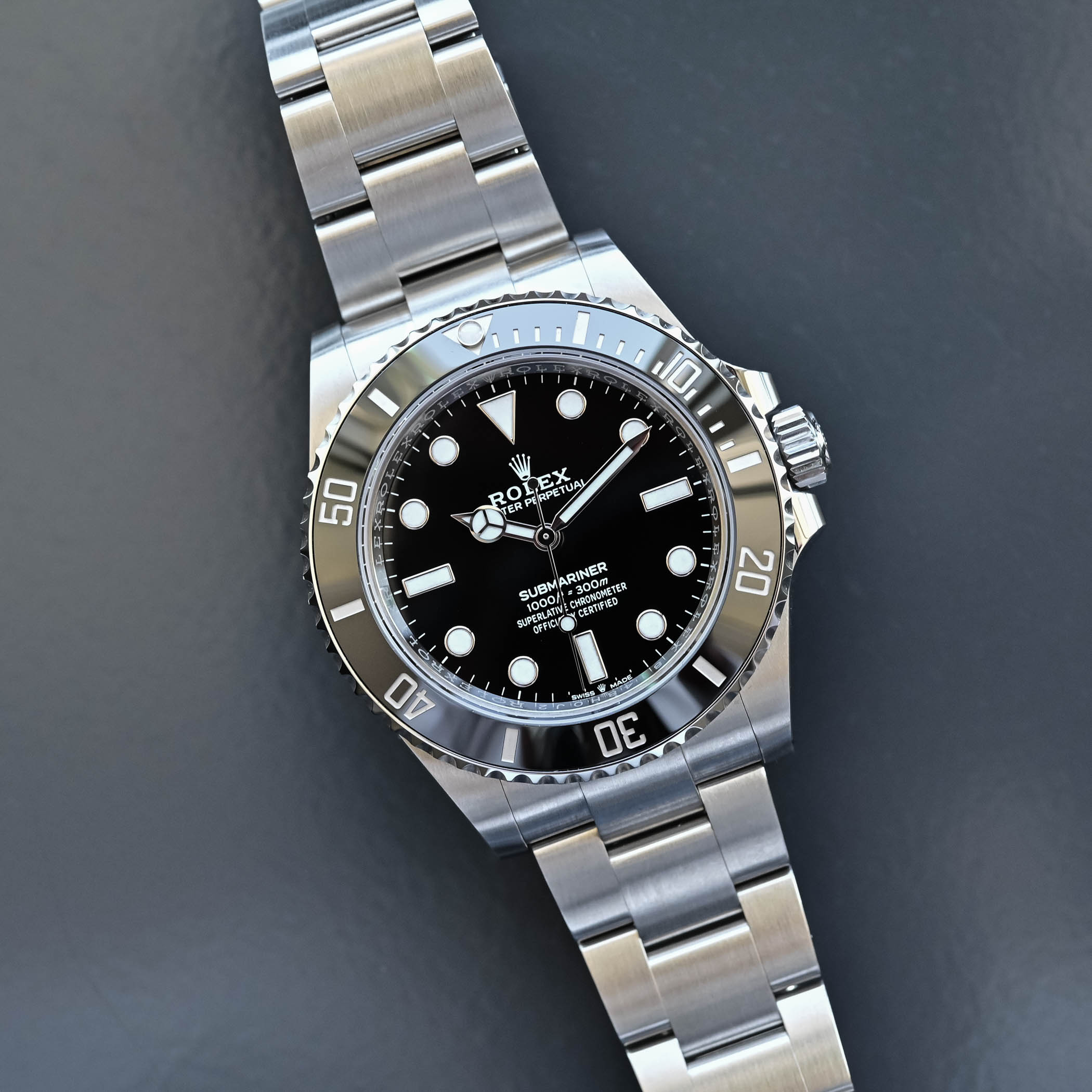 Rolex Submariner 41mm 124060 no-date Steel 2020 - new 41mm Oystersteel case and bracelet