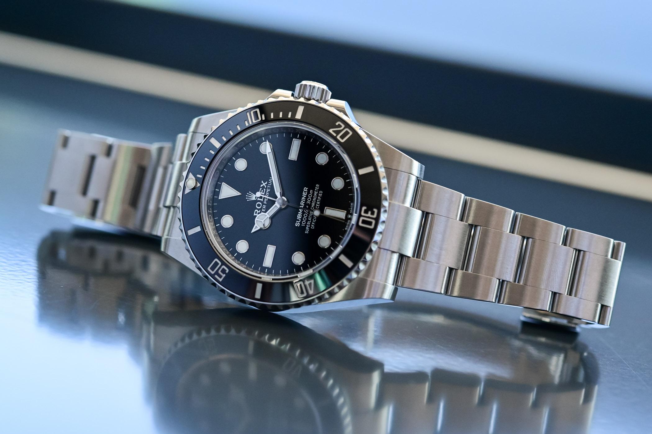 Rolex Submariner 41mm 124060 no-date Steel 2020 - case and bracelet