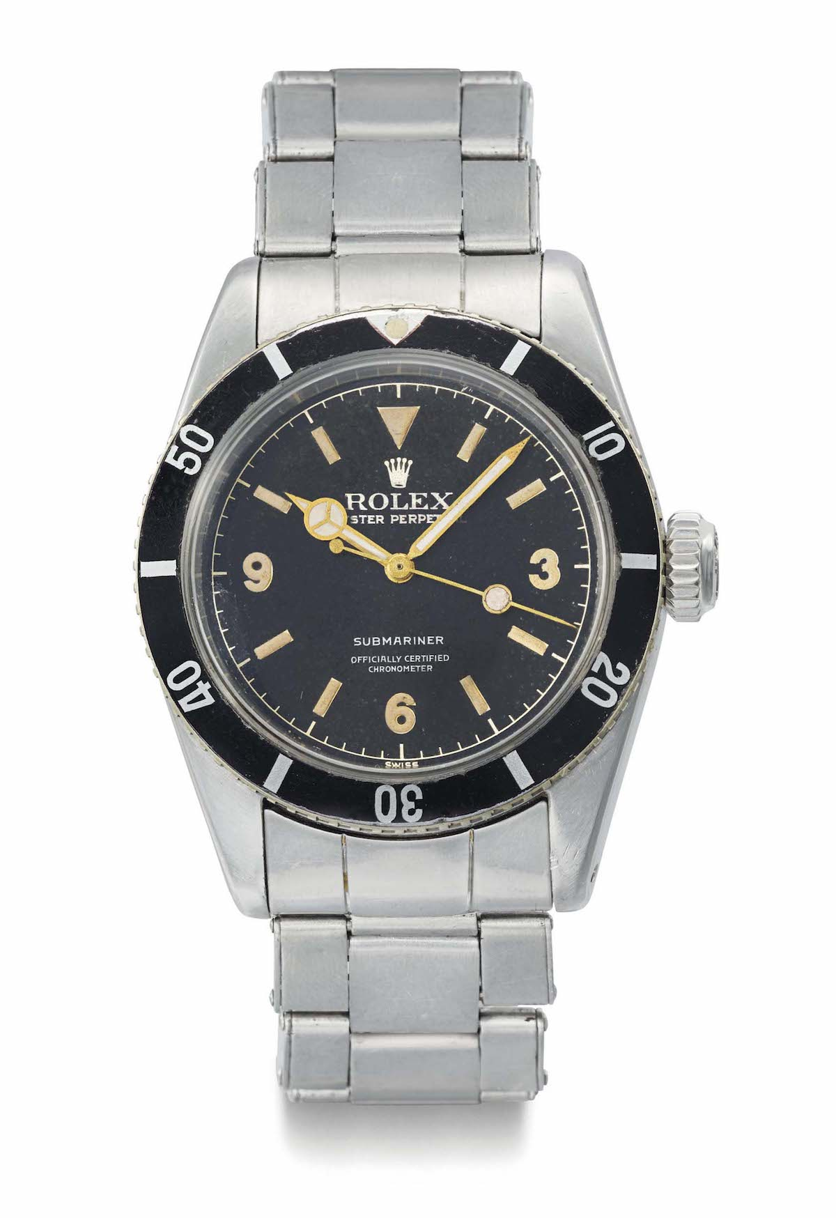 Rolex Submariner 6200 Explorer Dial - 2