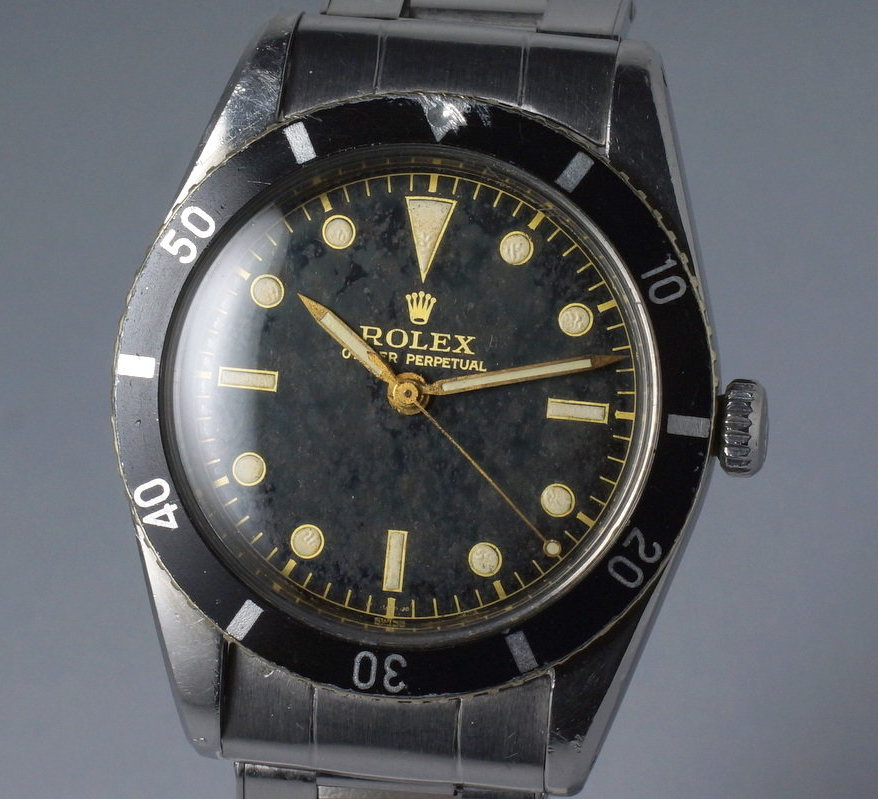 Rolex Submariner 6205 1st Generation pencil hands clean dial - 1