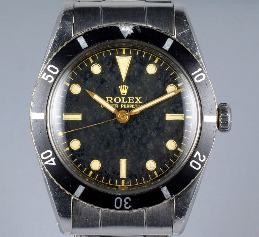 Rolex Submariner 6205 1st Generation pencil hands clean dial - 2