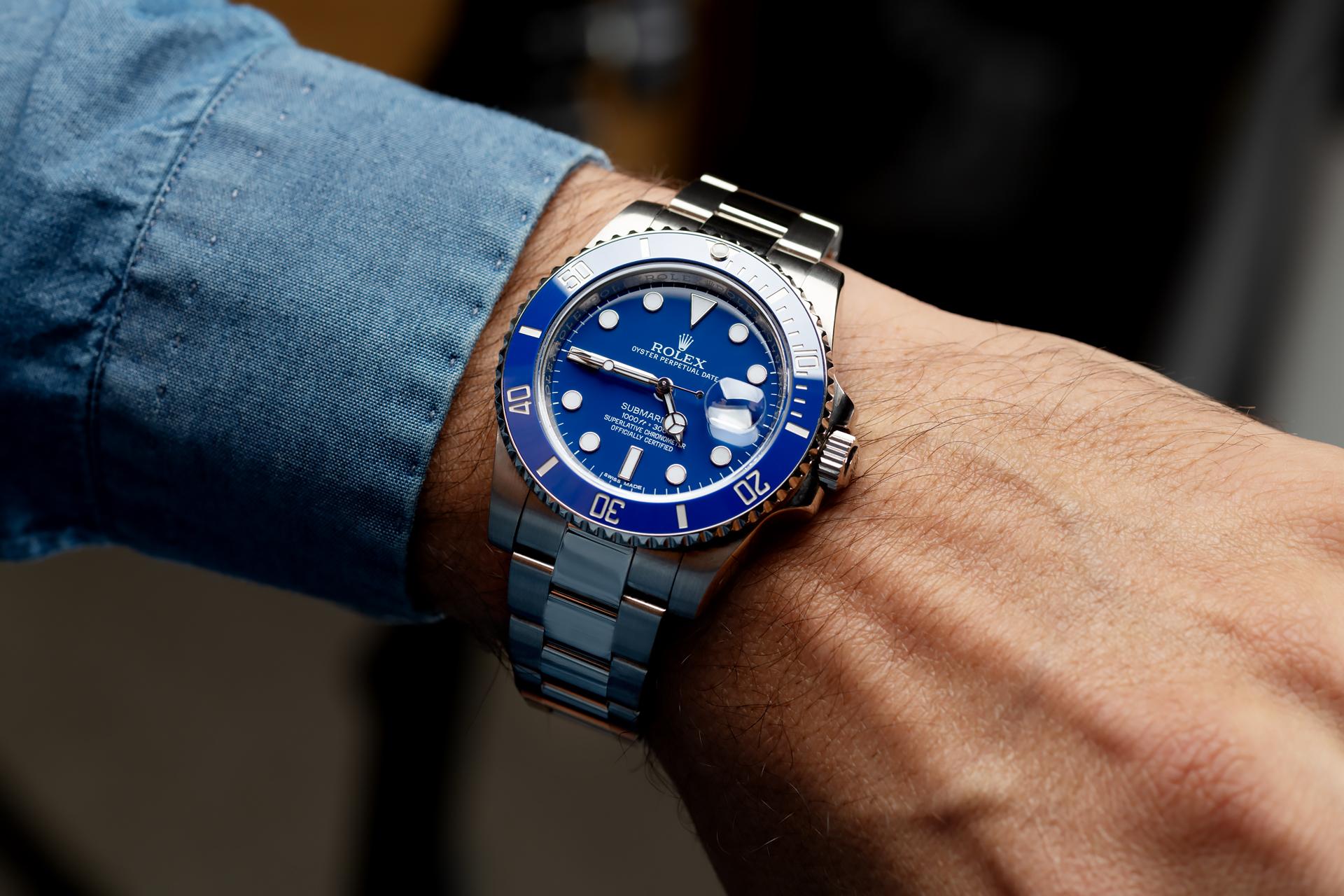Rolex Submariner Date 116619LB white gold - 2