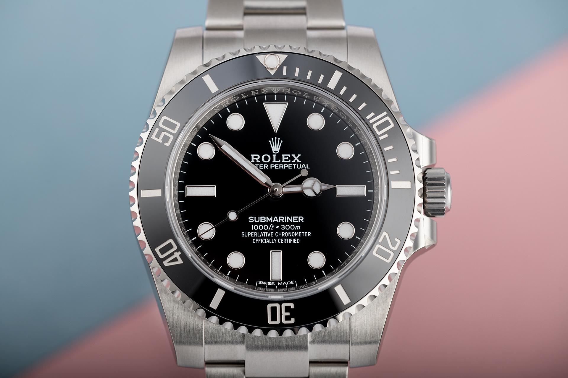 Rolex Submariner No-Date 114060 - 1