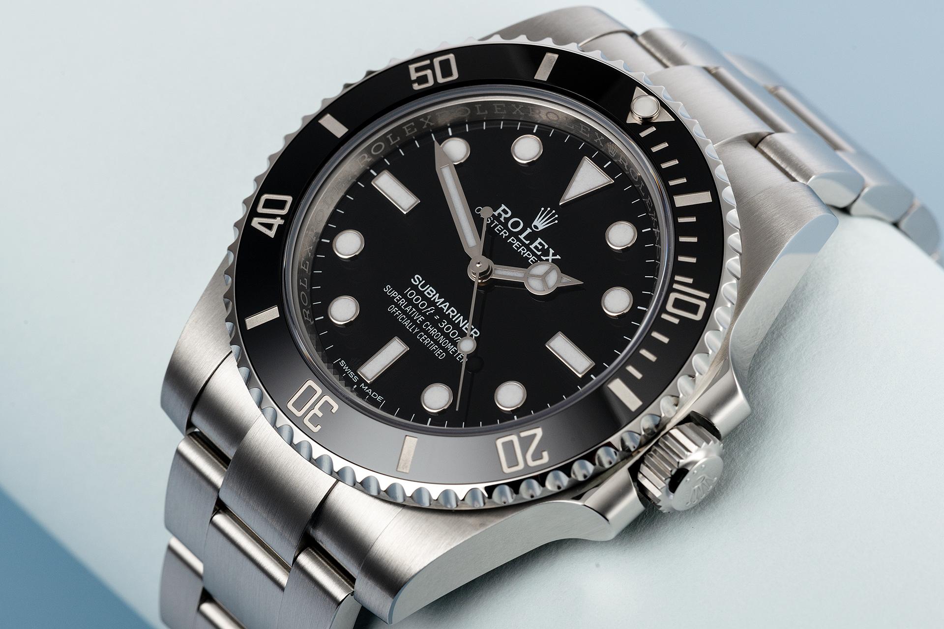 Rolex Submariner No-Date 114060 - 3