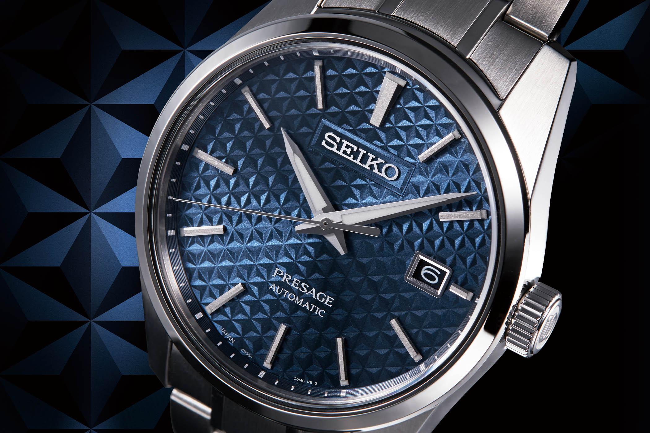 Seiko Presage Sharp Edged Series SPB165J1 SPB167J1 SPB169J1 SPB170J1