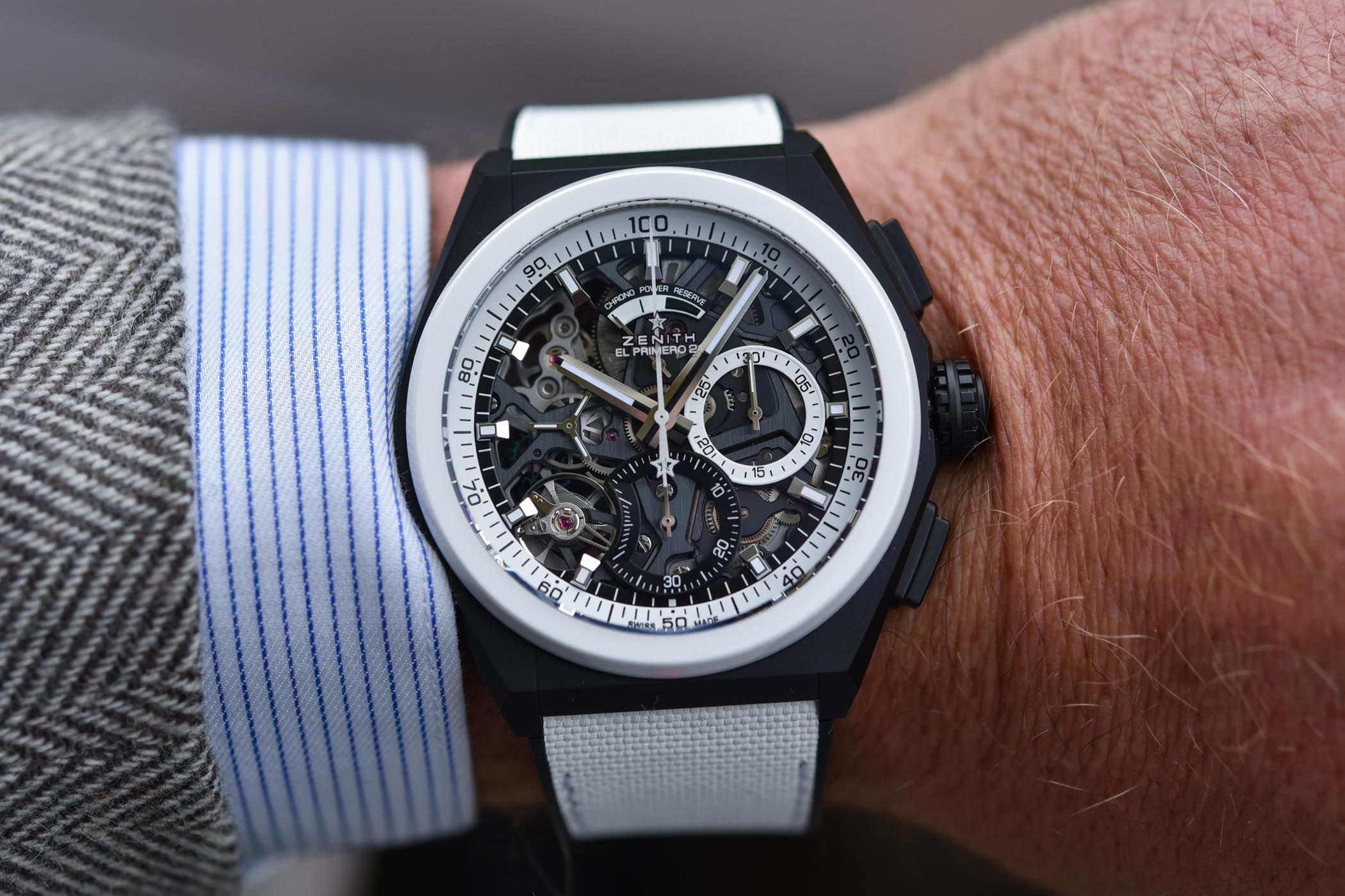 Zenith Defy 21 Chronograph Black & White