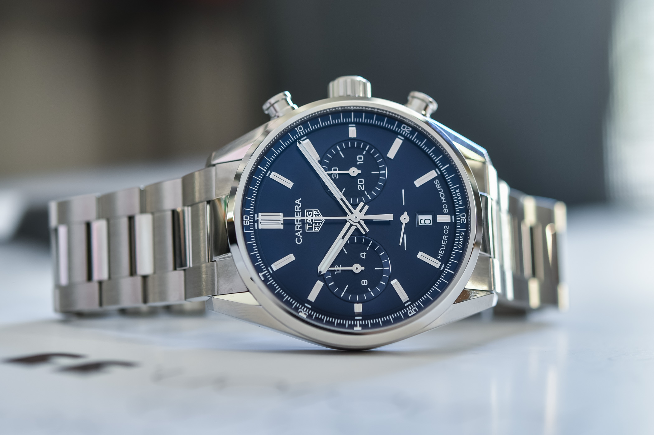 2020 TAG Heuer Carrera Chronograph 42mm Calibre Heuer 02