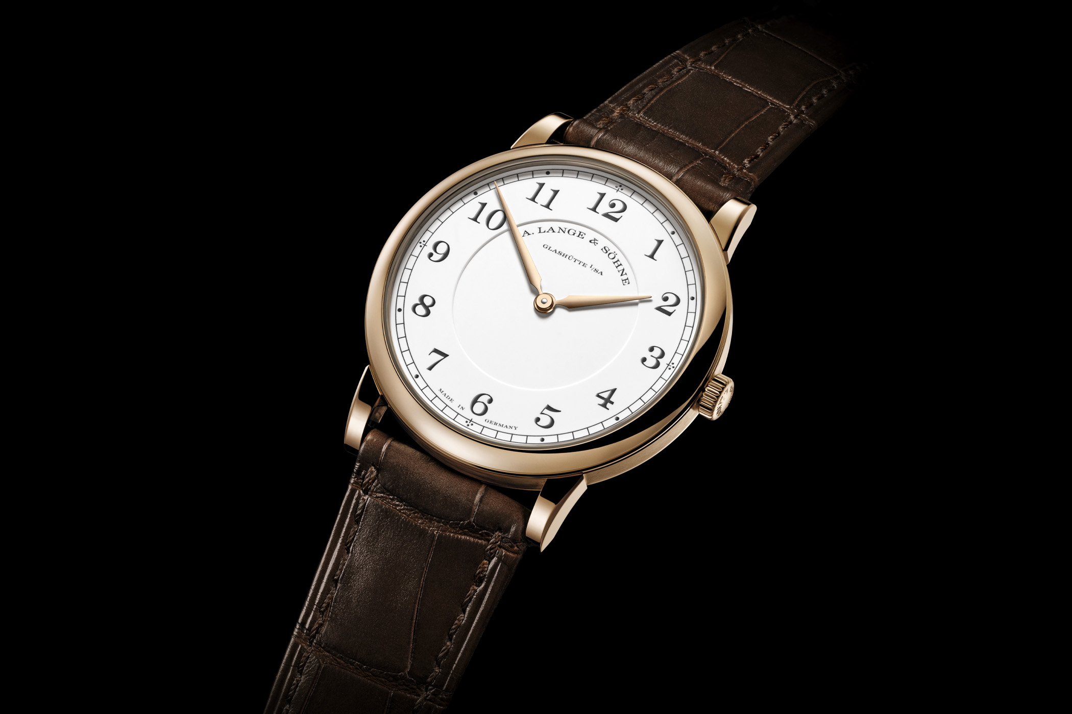 A. Lange & Sohne 1815 Thin Honeygold Homage to F. A. Lange