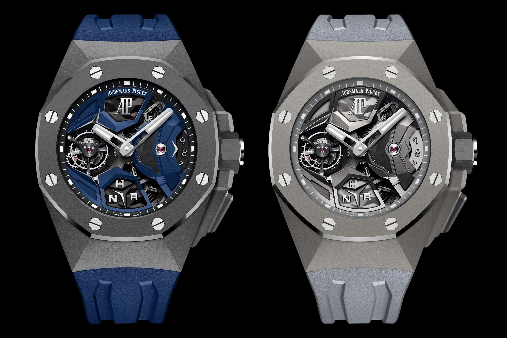 Audemars Piguet Royal Oak Concept Flying Tourbillon GMT - 26589IO and 26589TI
