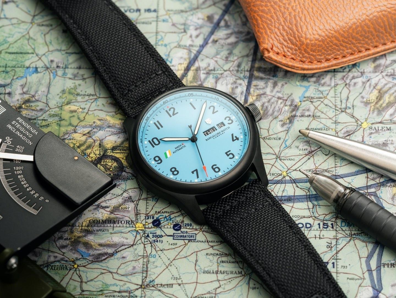 Bangalore Watch Company MACH 1 Officers Blue