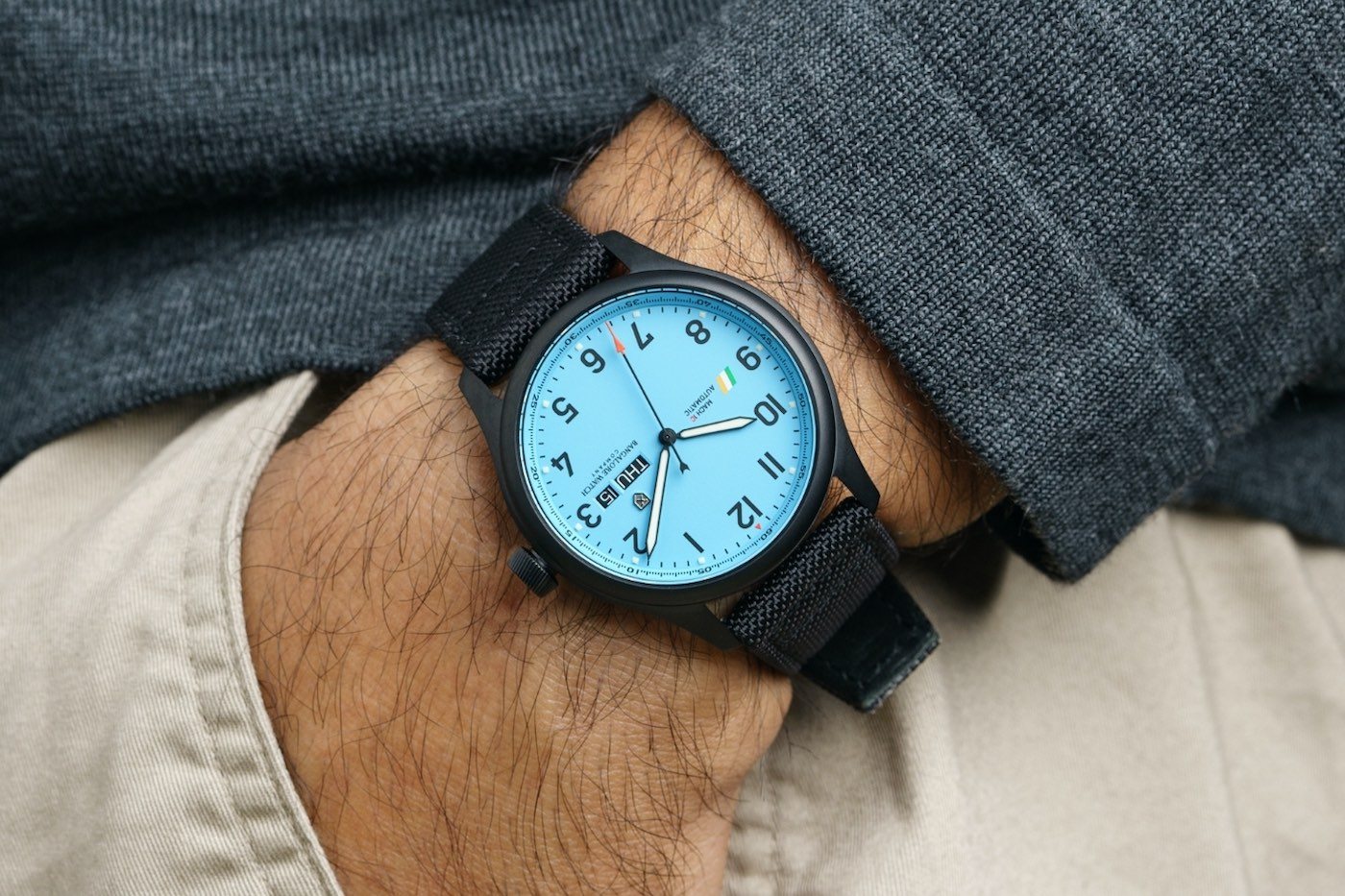 Bangalore Watch Company MACH 1 Officers Blue