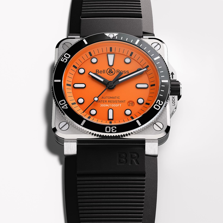 Bell & Ross BR 03-92 Diver Orange