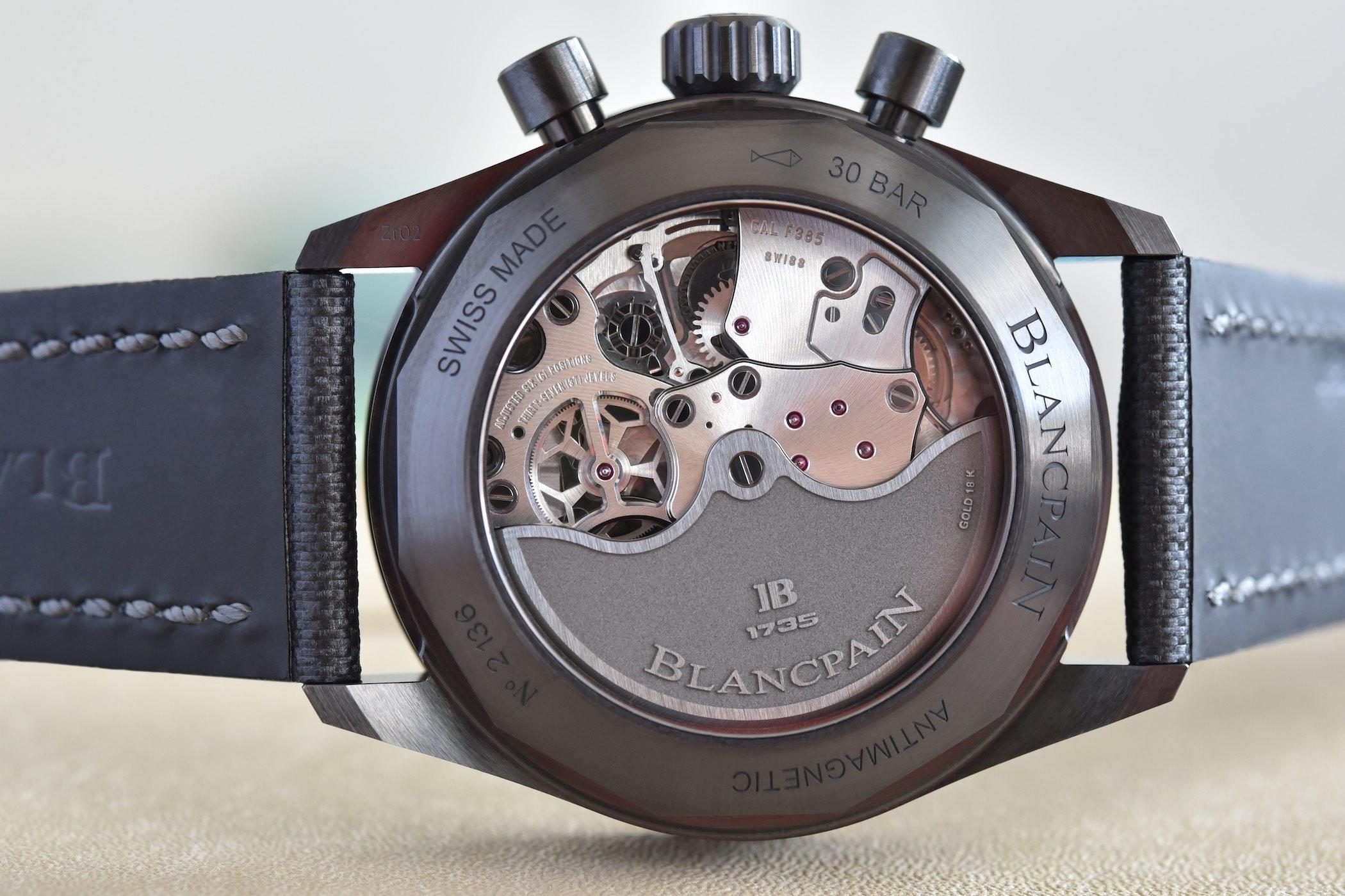 Blancpain Bathyscaphe Chronograph Flyback Green - Black Ceramic Green dial bezel 5200-0153-B52A - 8