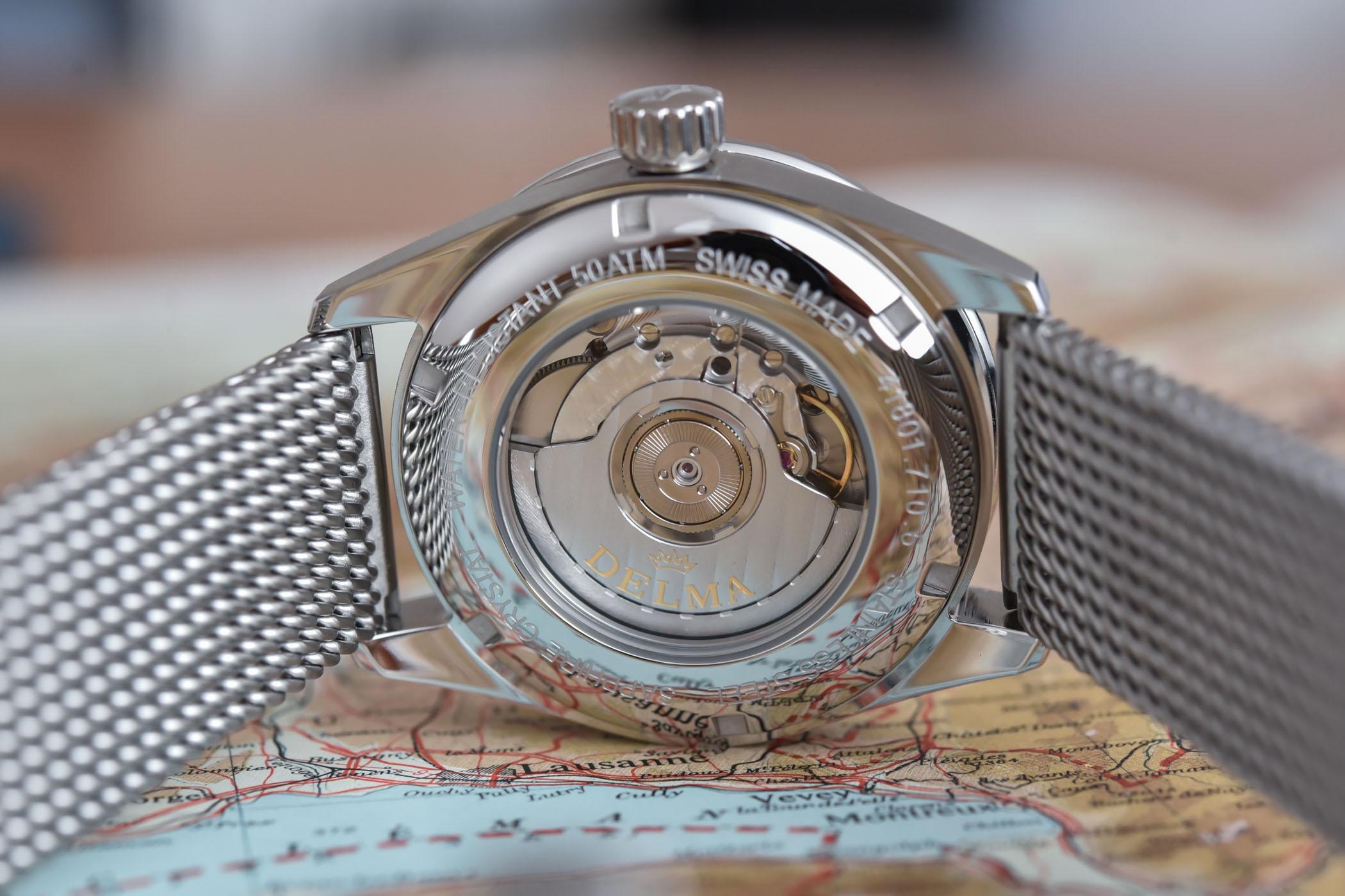 Delma Cayman Worldtimer Automatic
