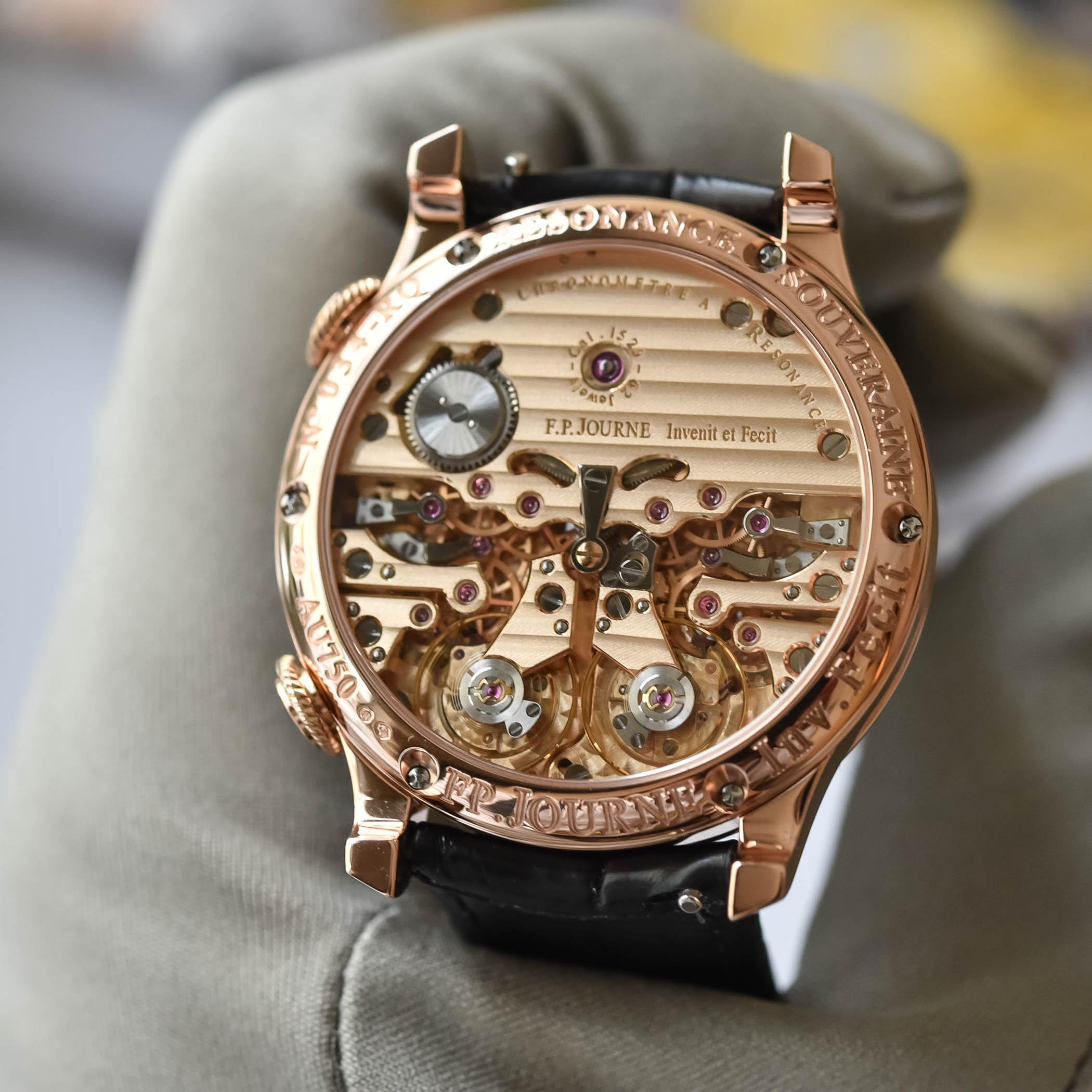 F.P. Journe Chronometre a Resonance Twin Remontoirs d'Egalite