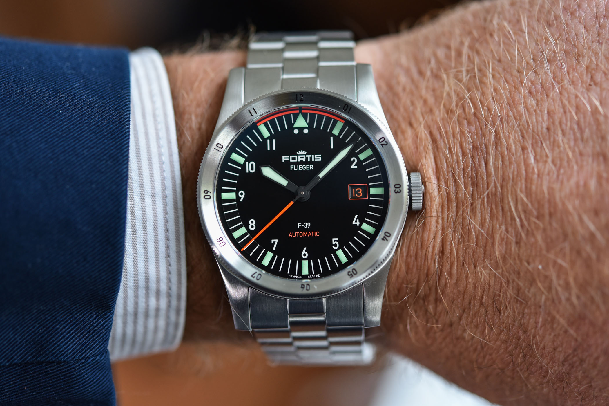 Fortis Flieger F-41 Automatic - Fortis Flieger F-39 Automatic - 2