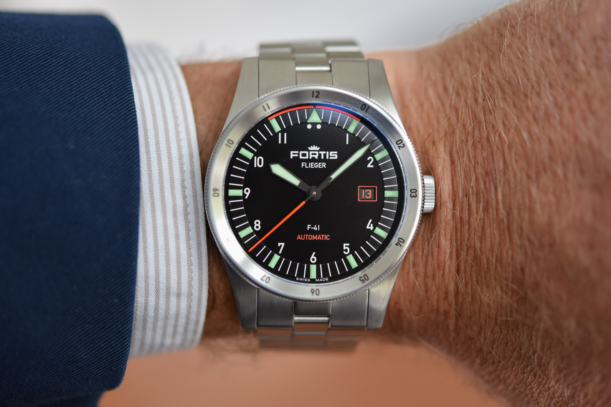 Fortis Flieger F-41 Automatic - Fortis Flieger F-39 Automatic - 3