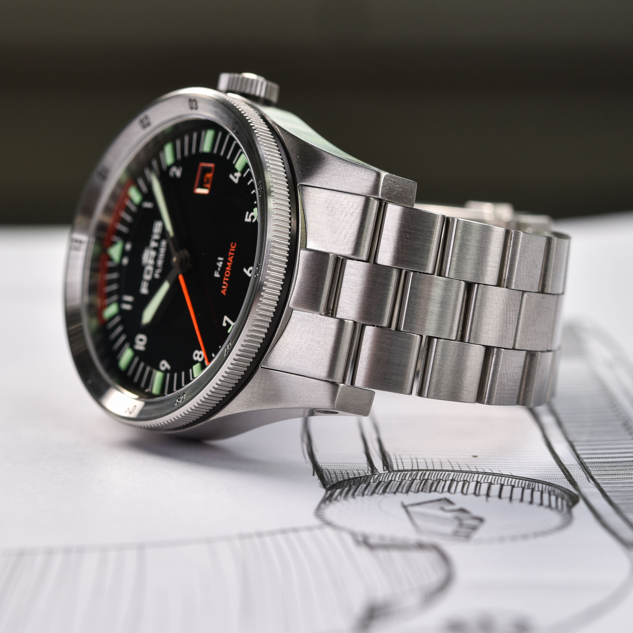 Fortis Flieger F-41 Automatic - Fortis Flieger F-39 Automatic - 6